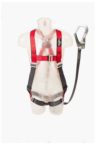 Capital Safety AB10119UNG Protecta Pro Harness and Energy Absorber Lanyard Size: M-L