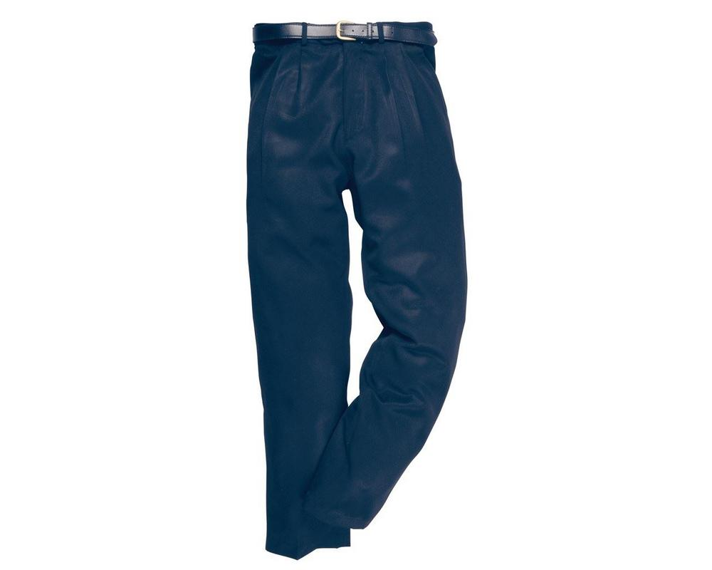 Portwest London Trousers S710 Polyviscose Navy - Black Regular or Long