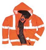 Portwest Sealtex Ultra Bomber Jacket RT52 Waterproof Hi Vis Orange