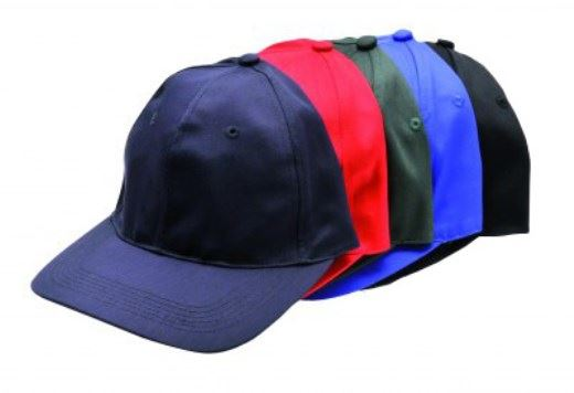 Portwest Six Panel Baseball Cap B010 Polycotton Various Colours