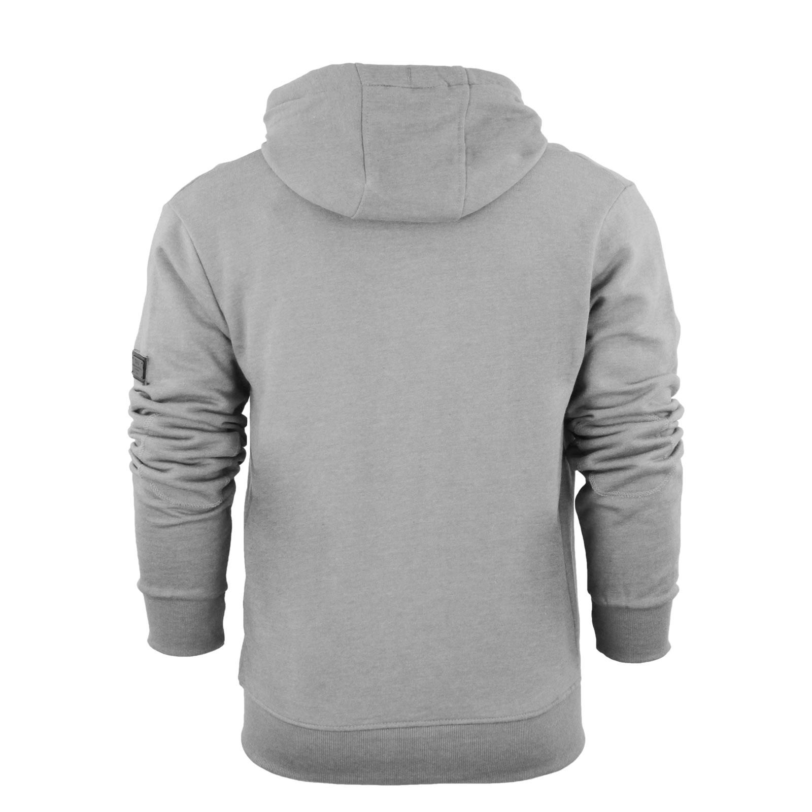 Mens Hoodie Smith & Jones Plazzio Zip up Hooded Sweater LT Grey ...