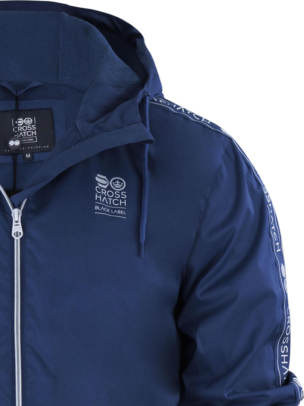 Mens Kagool Jacket Crosshatch Tabor Festival Hooded Rain Mac With ... 768a8302cb
