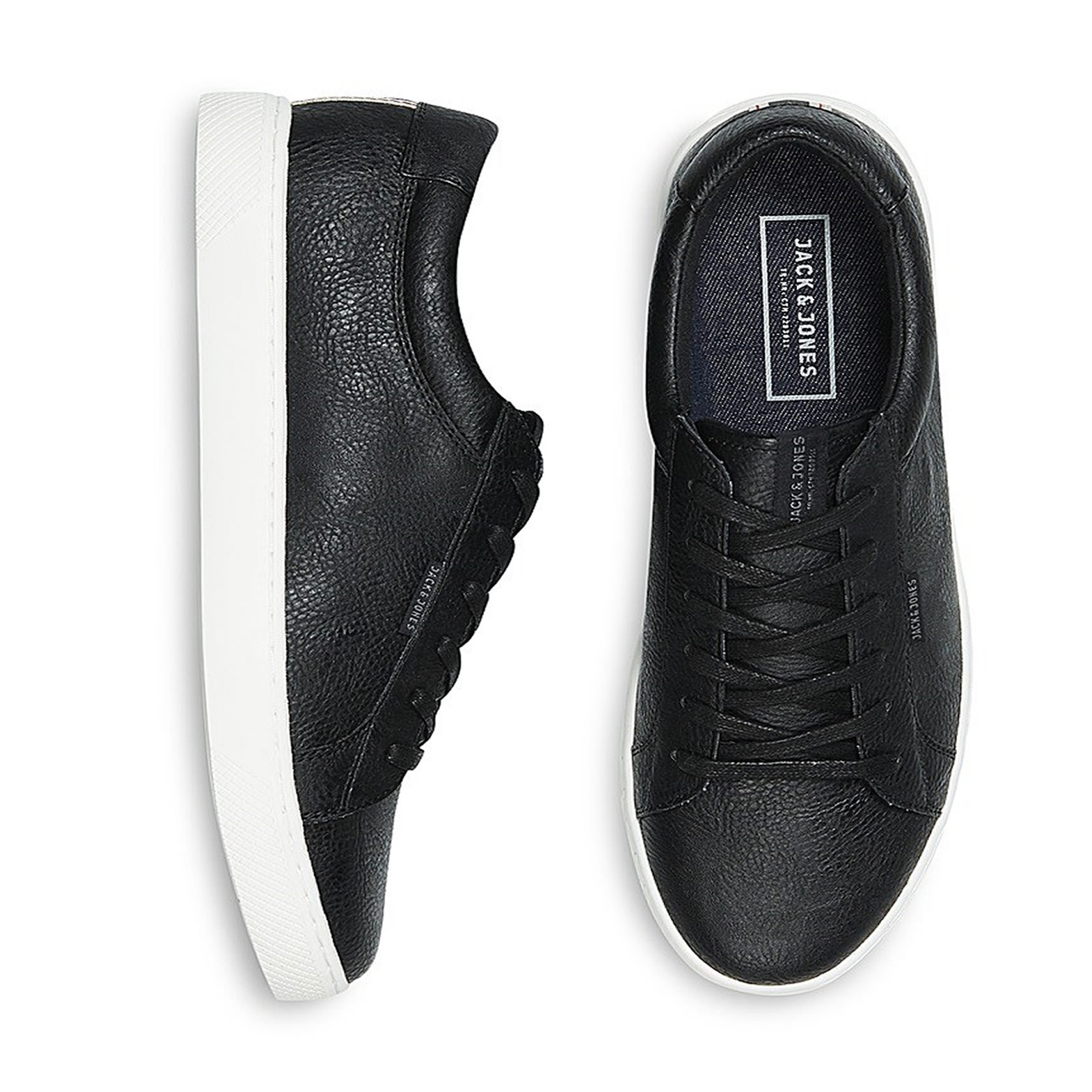 cddb96a0cf09ab Mens Trainers Jack & Jones Sable Casual PU Lace up SNEAKERS ...