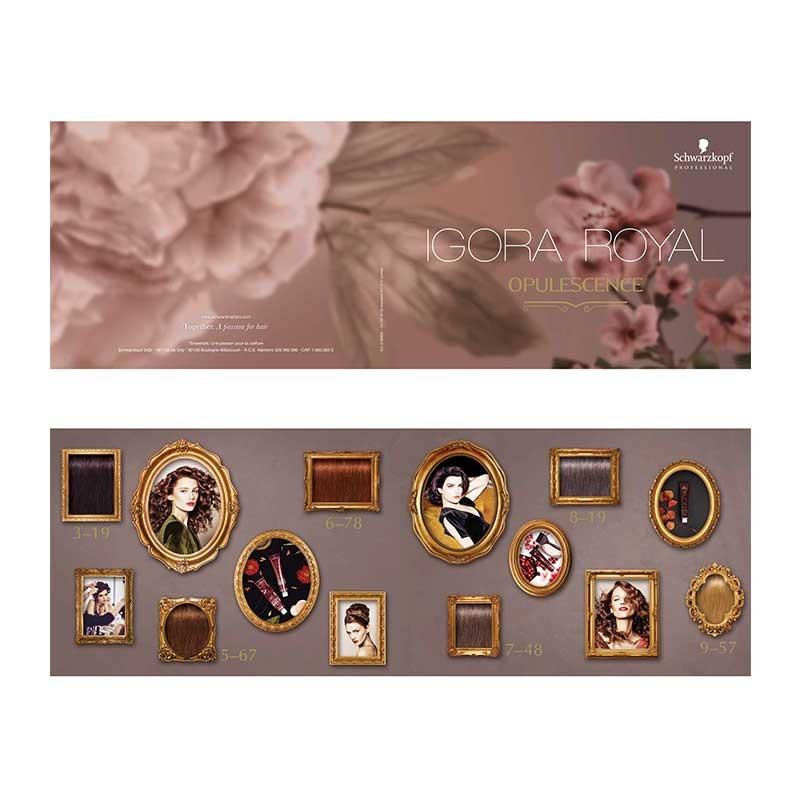 Schwarzkopf Igora Royal Opulescence Colour Chart 744904587785 Ebay