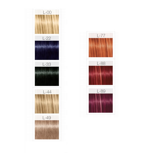 Schwarzkopf Igora Fashion Lights Colour Chart 744904587792 Ebay