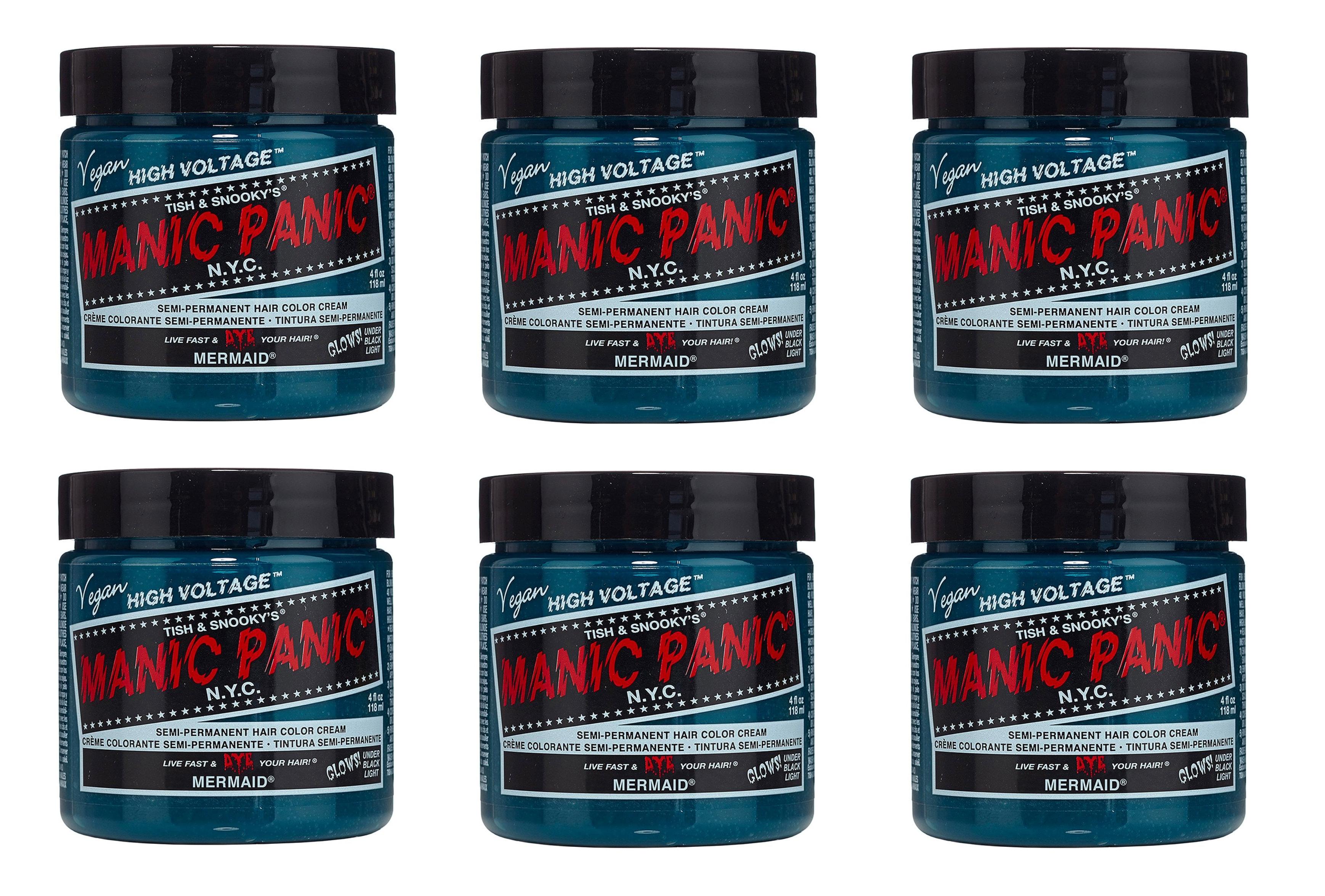[Manic Panic] High Voltage Classic Cream Formula Hair ... |Mermaid Manic Panic High Voltage