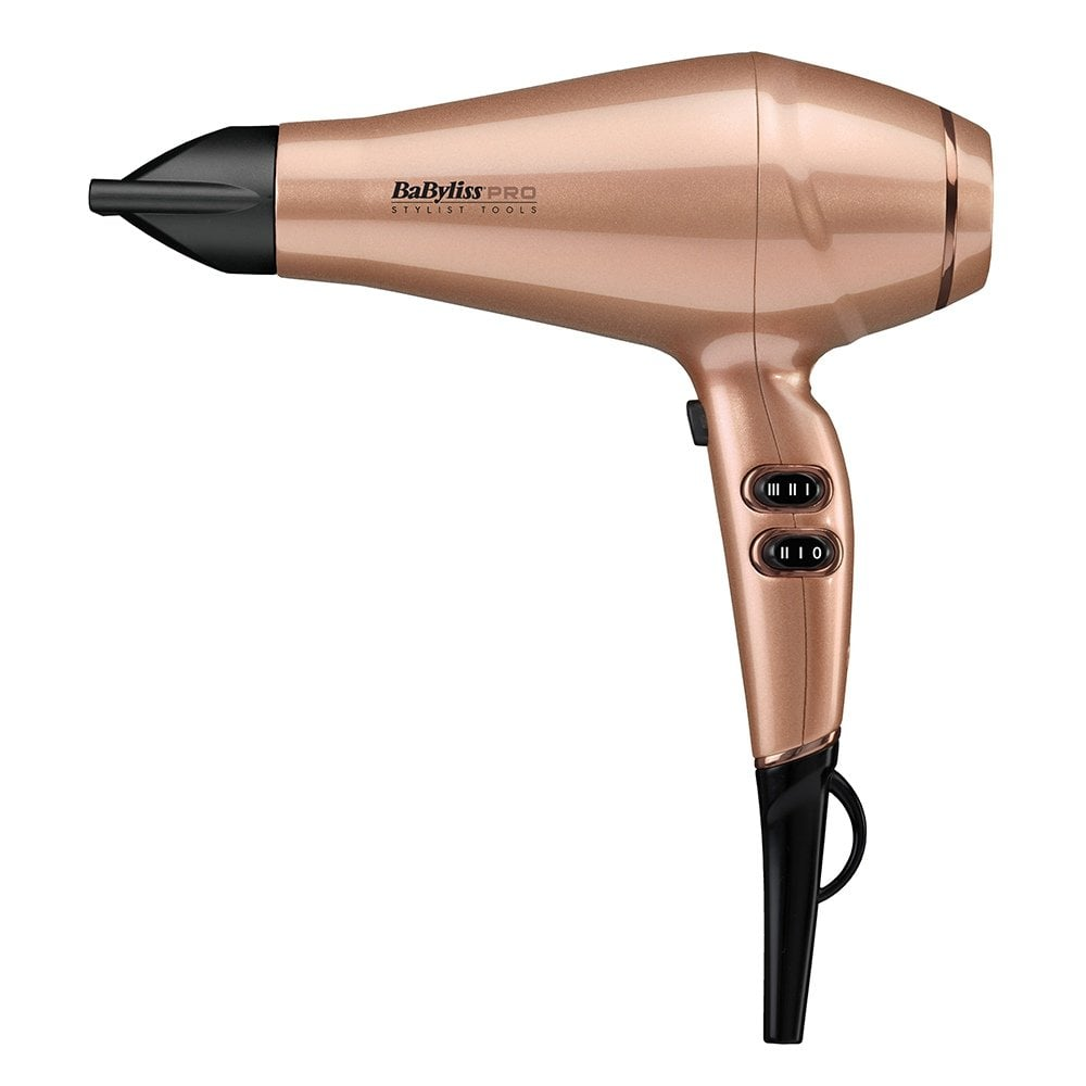 Babyliss Pro Keratin Lustre Hair Dryer Rose Gold  9d19a03812a8