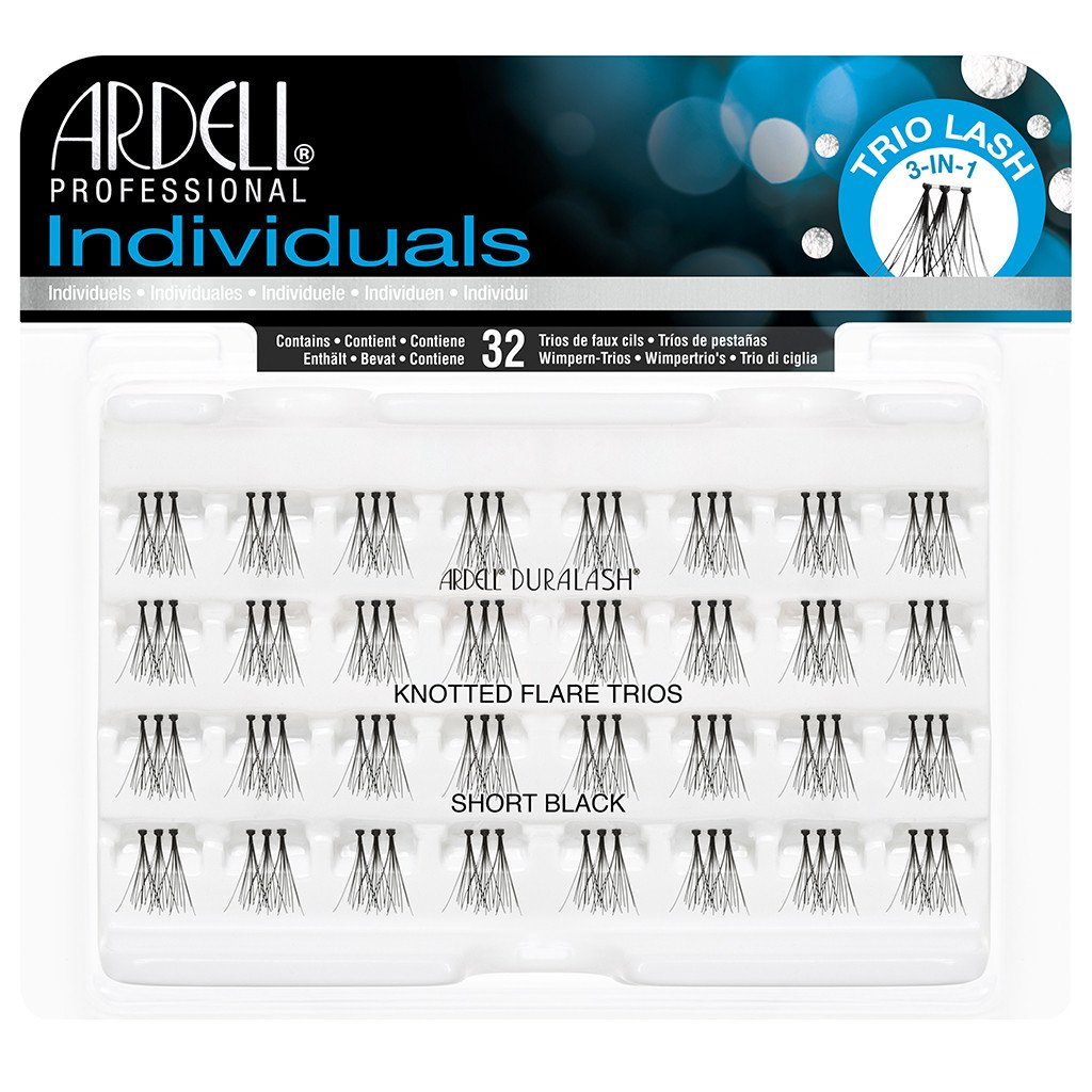 e55790a68dc Ardell Duralash Individual Knotted Flare Trios Eyelashes - Short Black