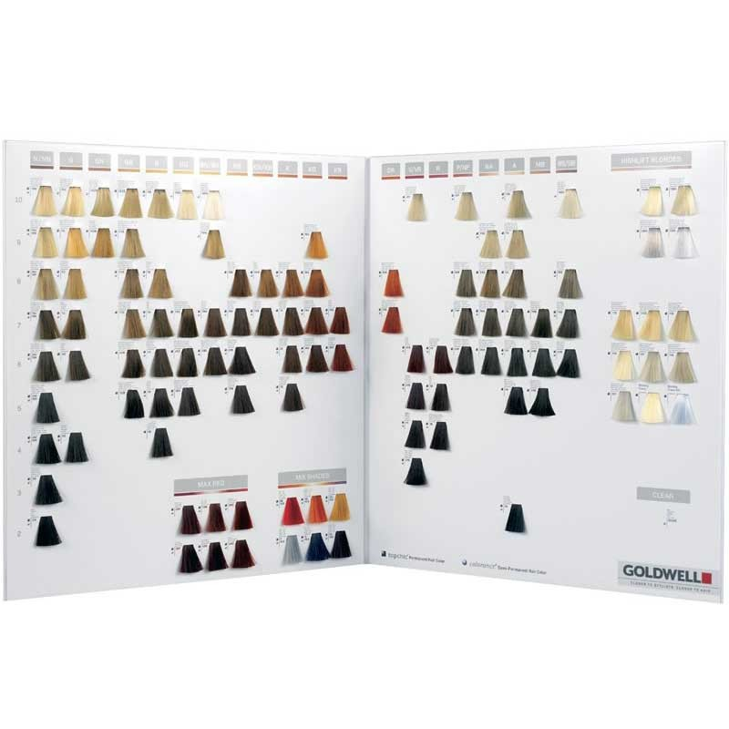 Goldwell Topchic Colour Chart Ebay