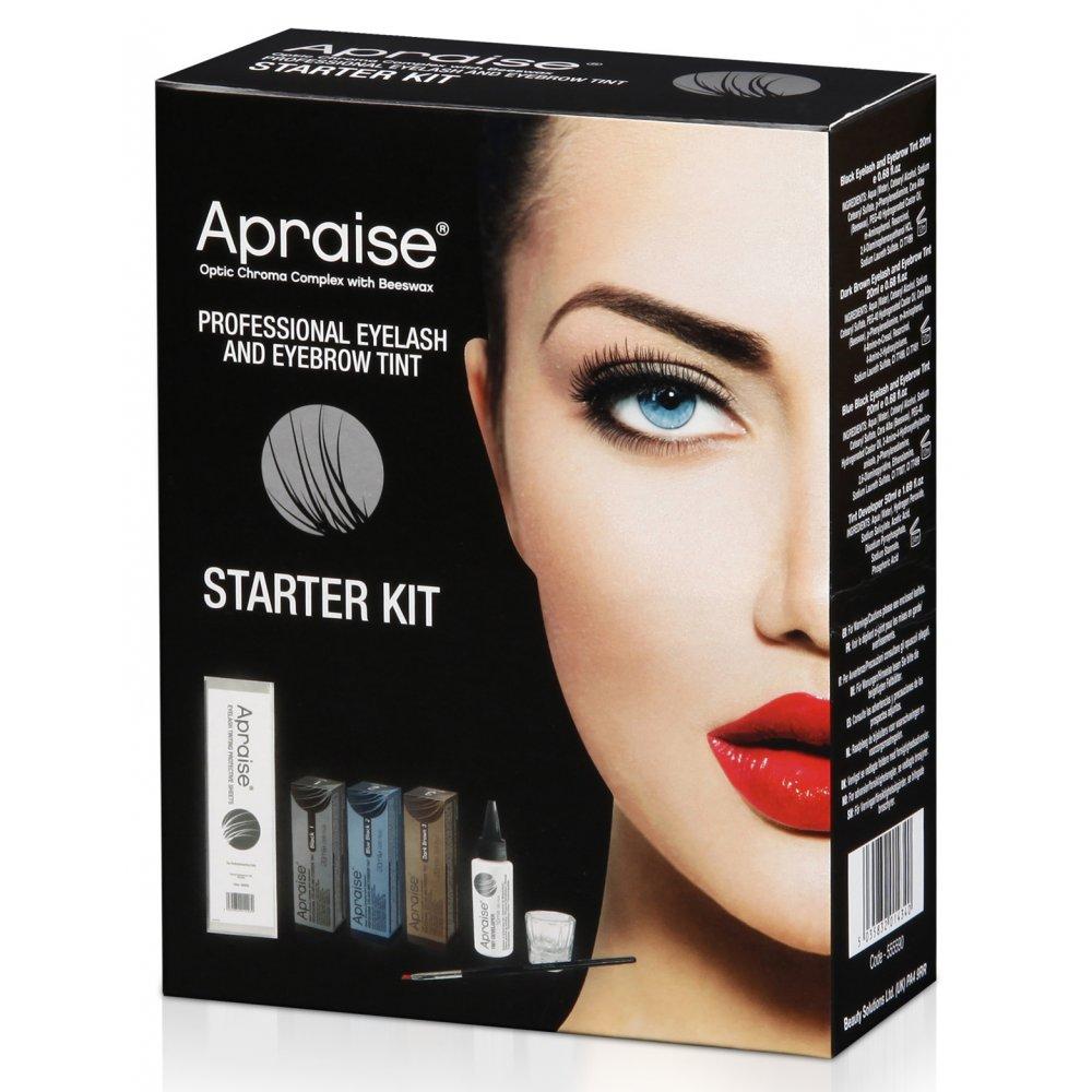 Apraise Eyelash And Eyebrow Tint Kit 5035832014340 Ebay