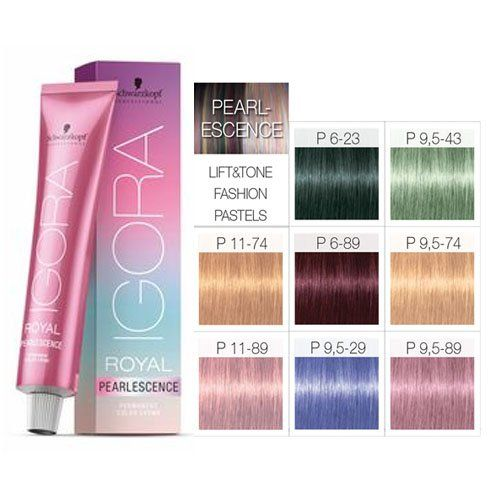 Schwarzkopf Igora Royal Pearlescence 60ml All Colours Ebay