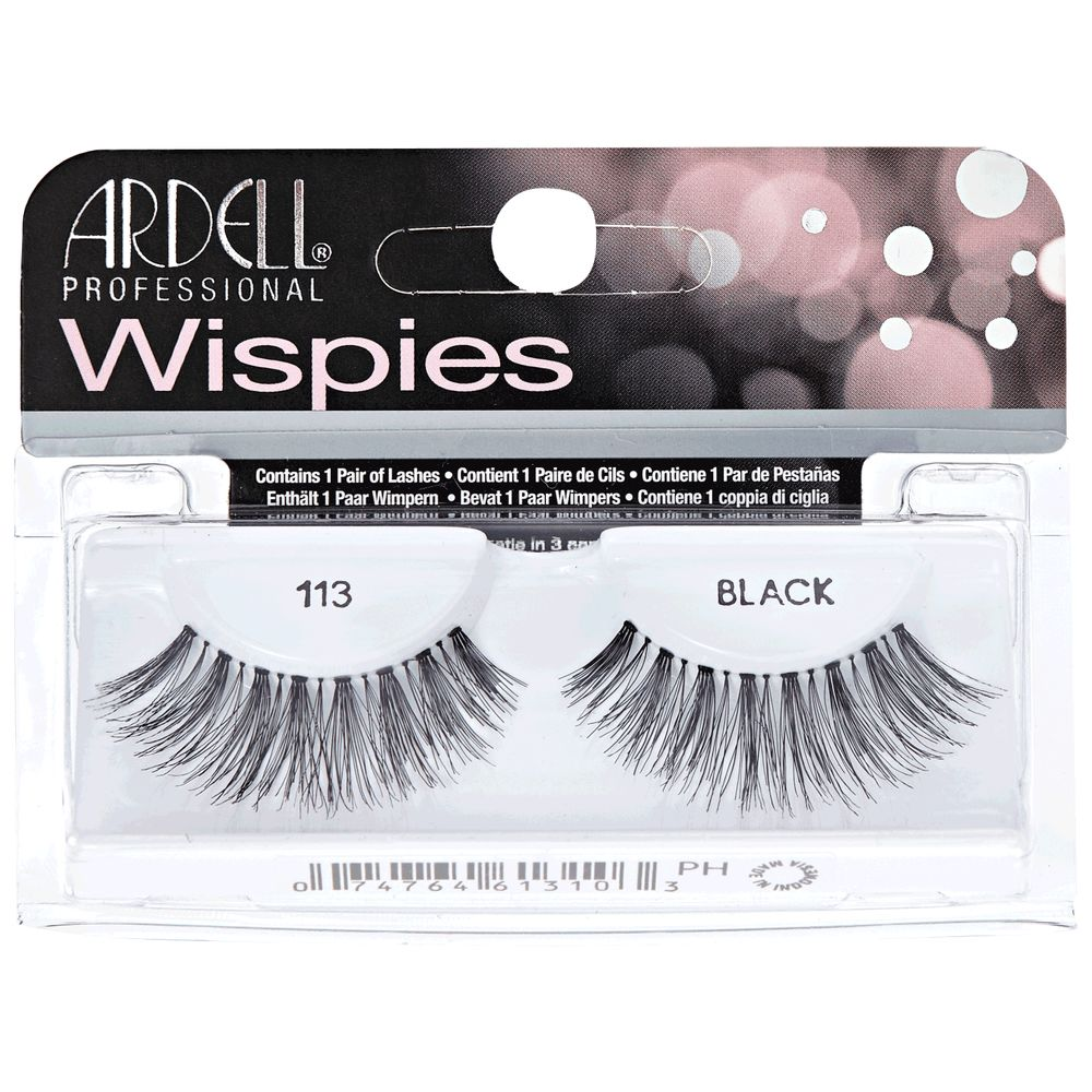 879b3c075cd Ardell Wispies Eyelashes - 113 Black 74764613103 | eBay
