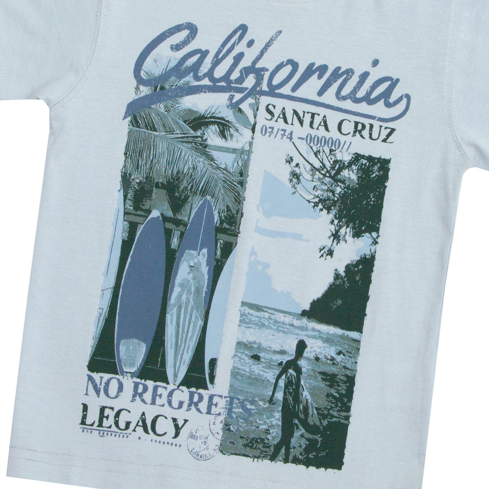 Garcons-Neuf-en-coton-T-shirt-a-encolure-ras-du-cou-d-039-ete-Enfant-Top-2-3-4-5-6-7-8-9-10-11-12-13 miniature 3