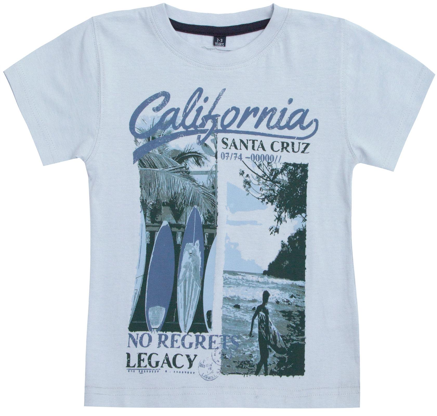 Garcons-Neuf-en-coton-T-shirt-a-encolure-ras-du-cou-d-039-ete-Enfant-Top-2-3-4-5-6-7-8-9-10-11-12-13 miniature 5
