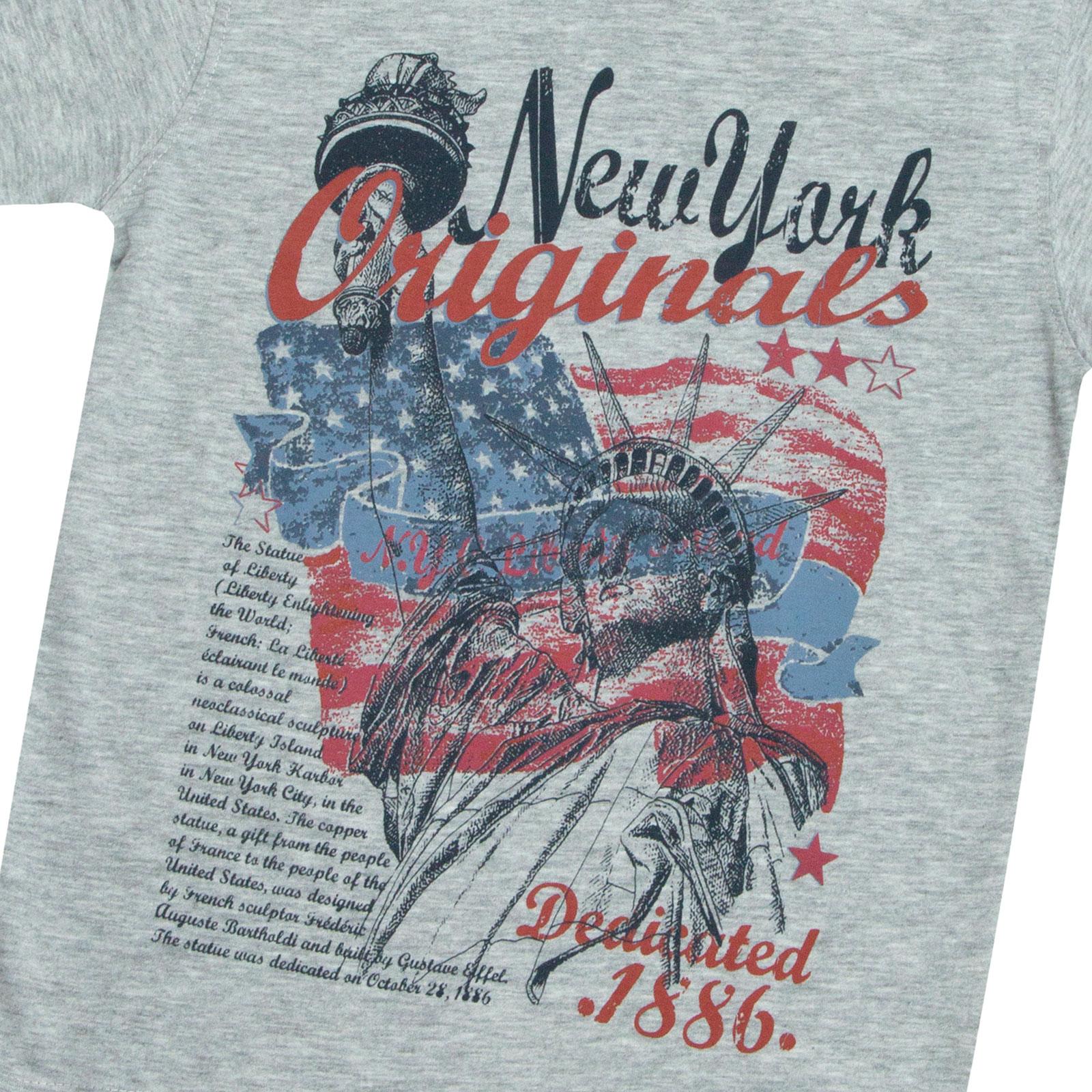 Garcons-Neuf-en-coton-T-shirt-a-encolure-ras-du-cou-d-039-ete-Enfant-Top-2-3-4-5-6-7-8-9-10-11-12-13 miniature 7