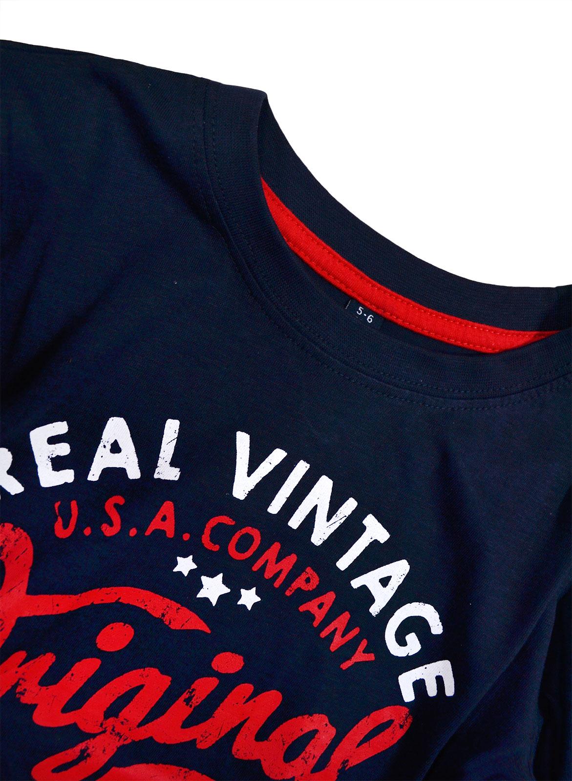 Garcons-Neuf-en-coton-T-shirt-a-encolure-ras-du-cou-d-039-ete-Enfant-Top-2-3-4-5-6-7-8-9-10-11-12-13 miniature 11