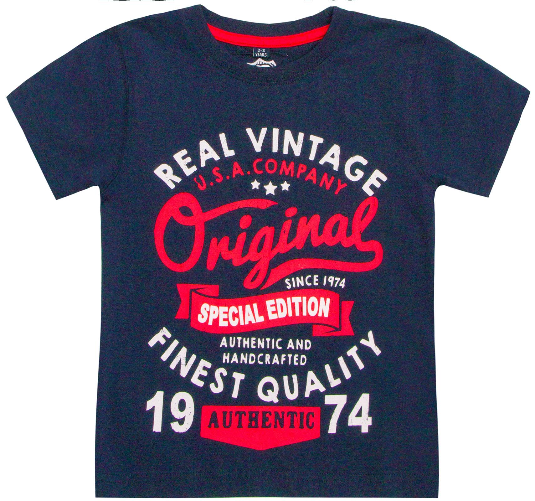 Garcons-Neuf-en-coton-T-shirt-a-encolure-ras-du-cou-d-039-ete-Enfant-Top-2-3-4-5-6-7-8-9-10-11-12-13 miniature 13