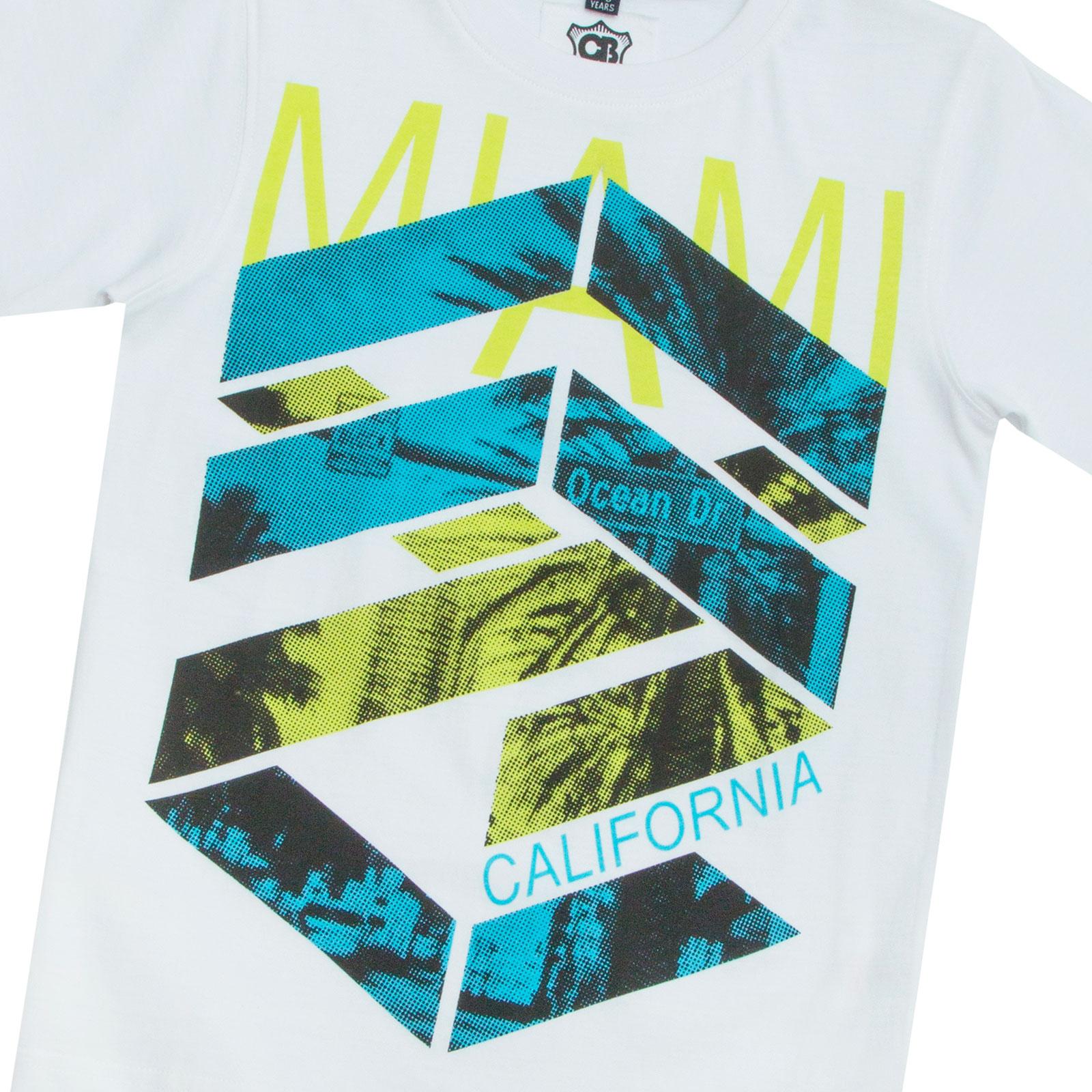Garcons-Neuf-en-coton-T-shirt-a-encolure-ras-du-cou-d-039-ete-Enfant-Top-2-3-4-5-6-7-8-9-10-11-12-13 miniature 15