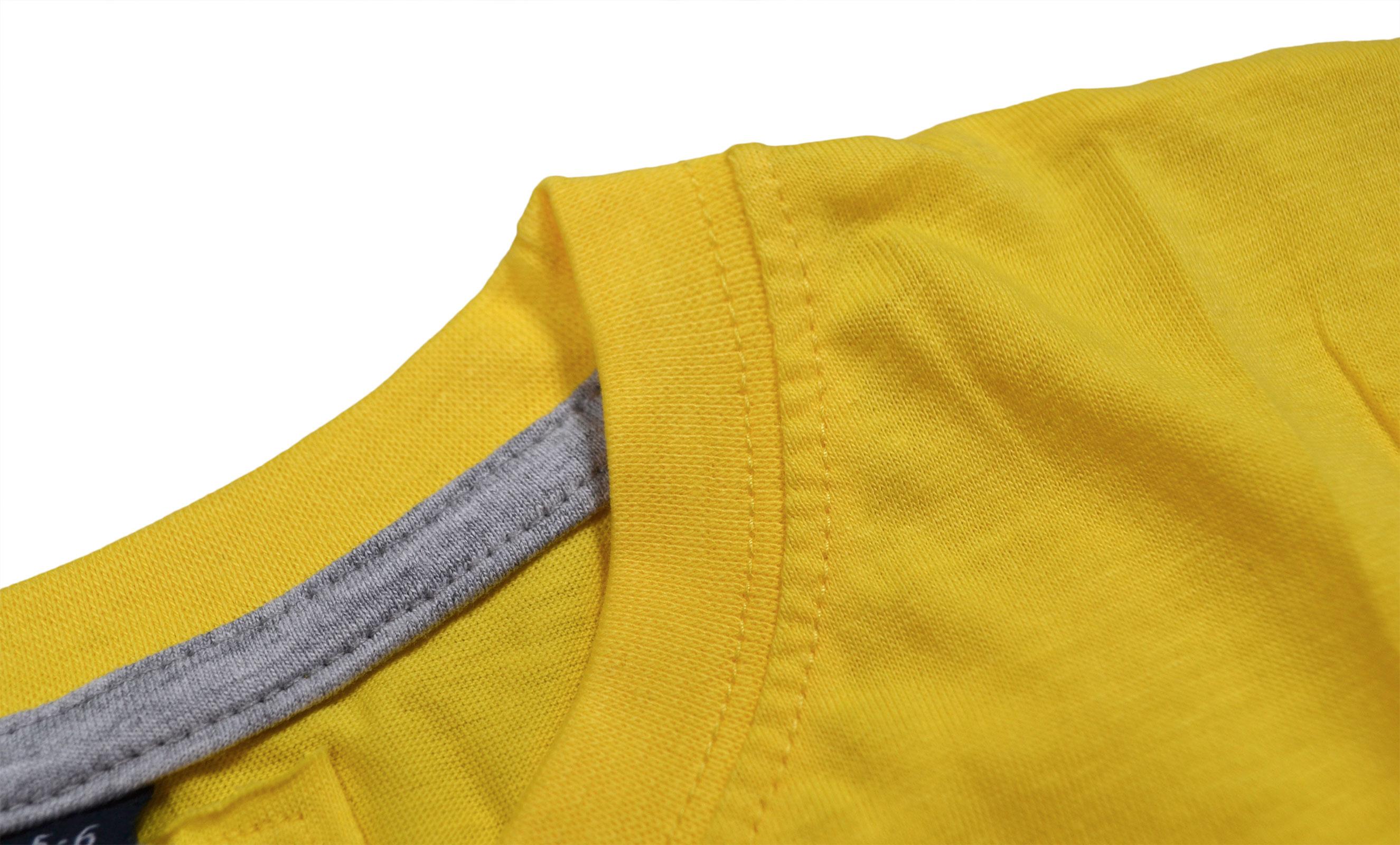 Garcons-Neuf-en-coton-T-shirt-a-encolure-ras-du-cou-d-039-ete-Enfant-Top-2-3-4-5-6-7-8-9-10-11-12-13 miniature 21