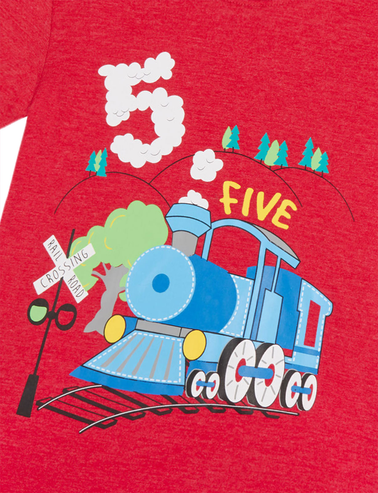 Boys-Birthday-I-Am-1-2-3-4-5-6-Years-Top-Kids-New-Age-Number-Birthday-T-Shirt thumbnail 3