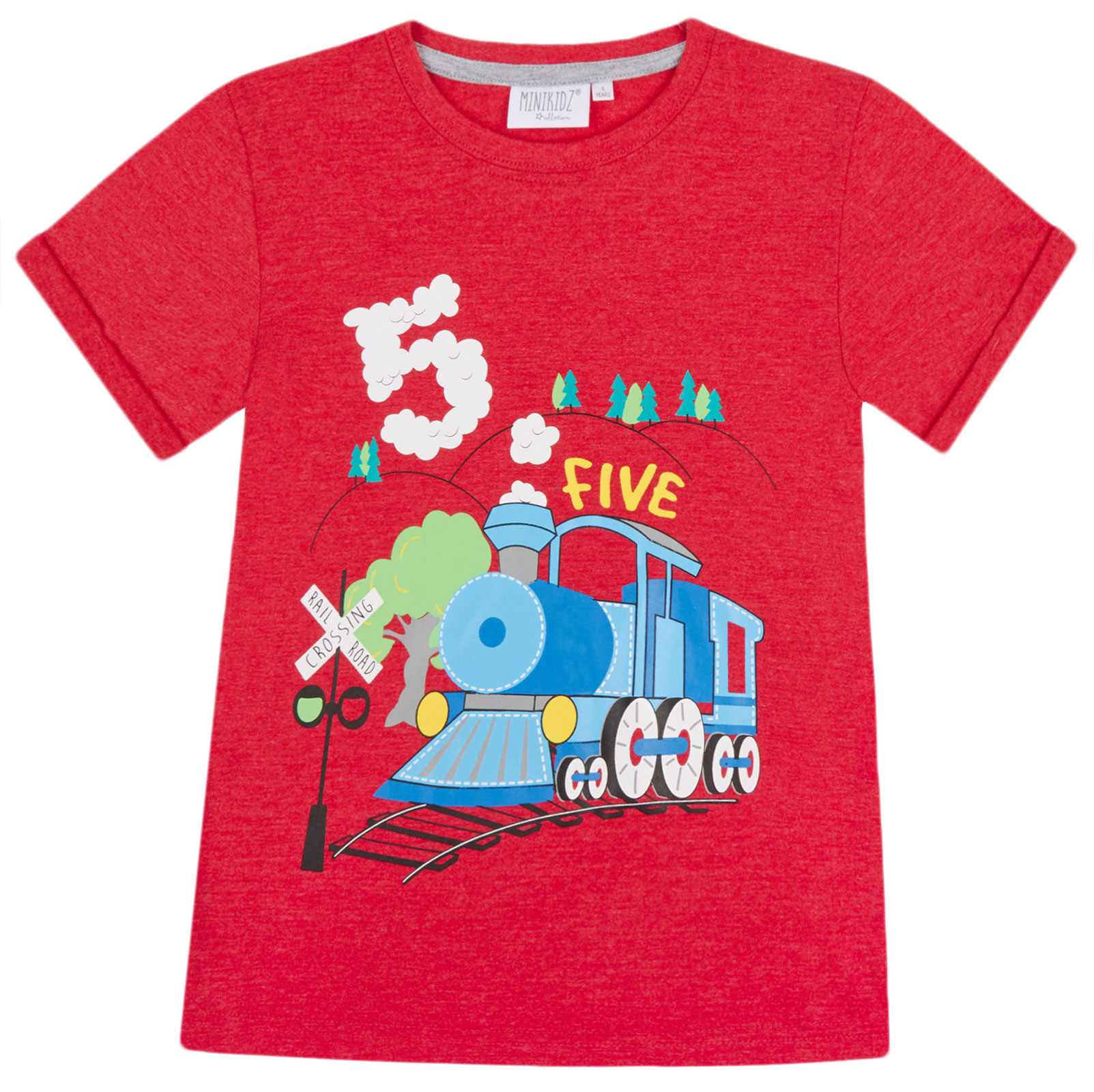 Boys-Birthday-I-Am-1-2-3-4-5-6-Years-Top-Kids-New-Age-Number-Birthday-T-Shirt thumbnail 5