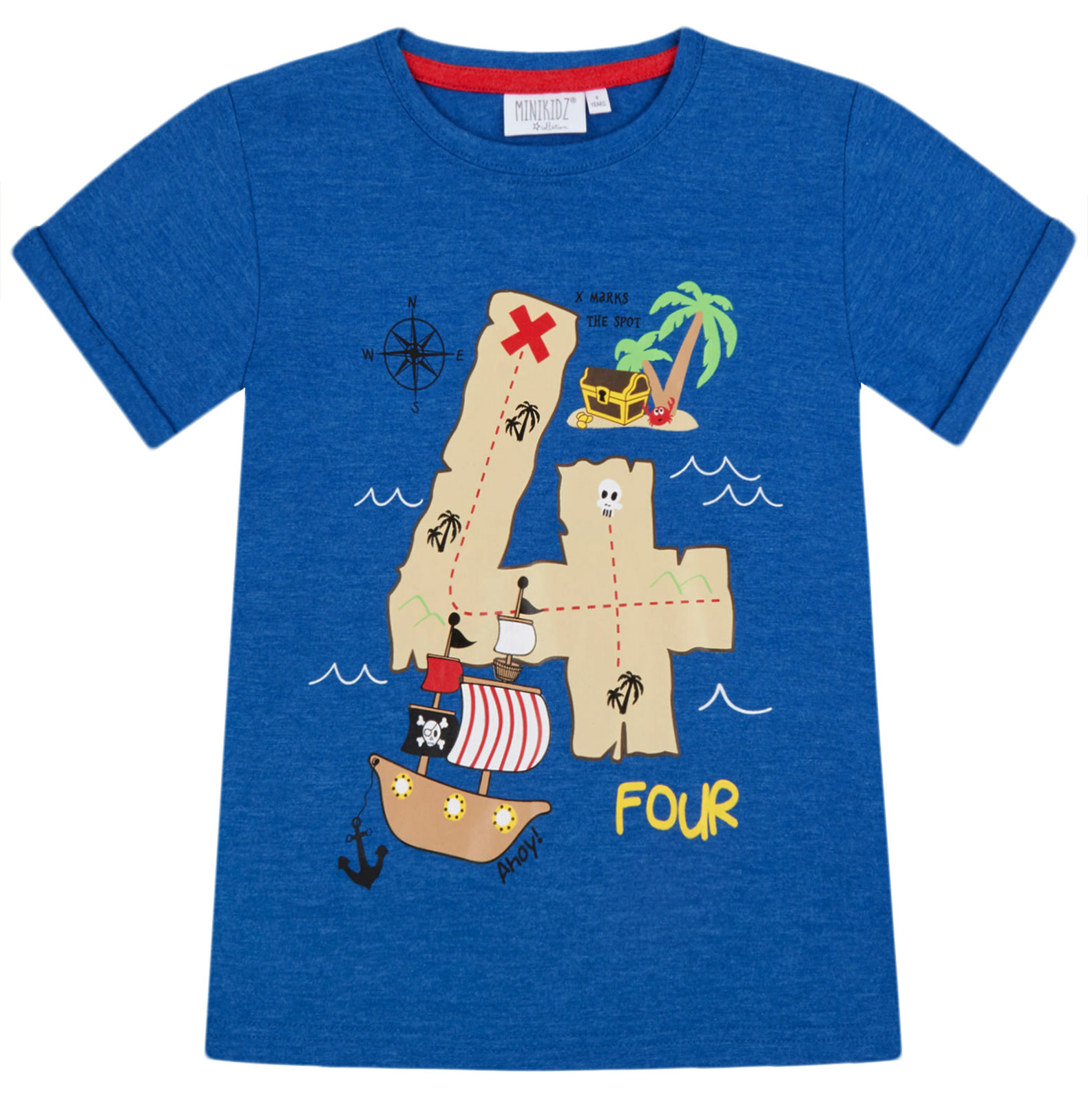 Boys-Birthday-I-Am-1-2-3-4-5-6-Years-Top-Kids-New-Age-Number-Birthday-T-Shirt thumbnail 9
