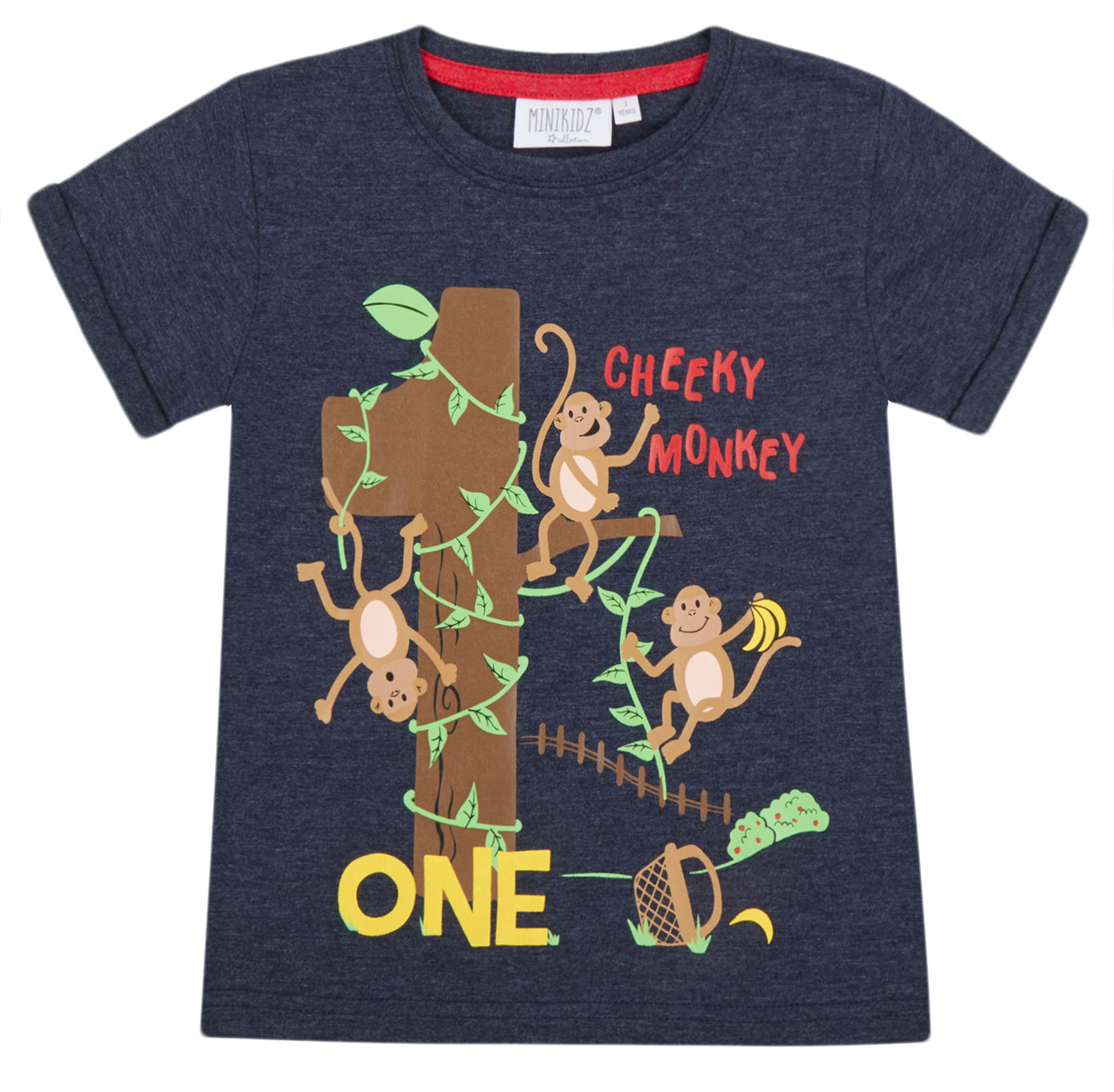 Boys-Birthday-I-Am-1-2-3-4-5-6-Years-Top-Kids-New-Age-Number-Birthday-T-Shirt thumbnail 13