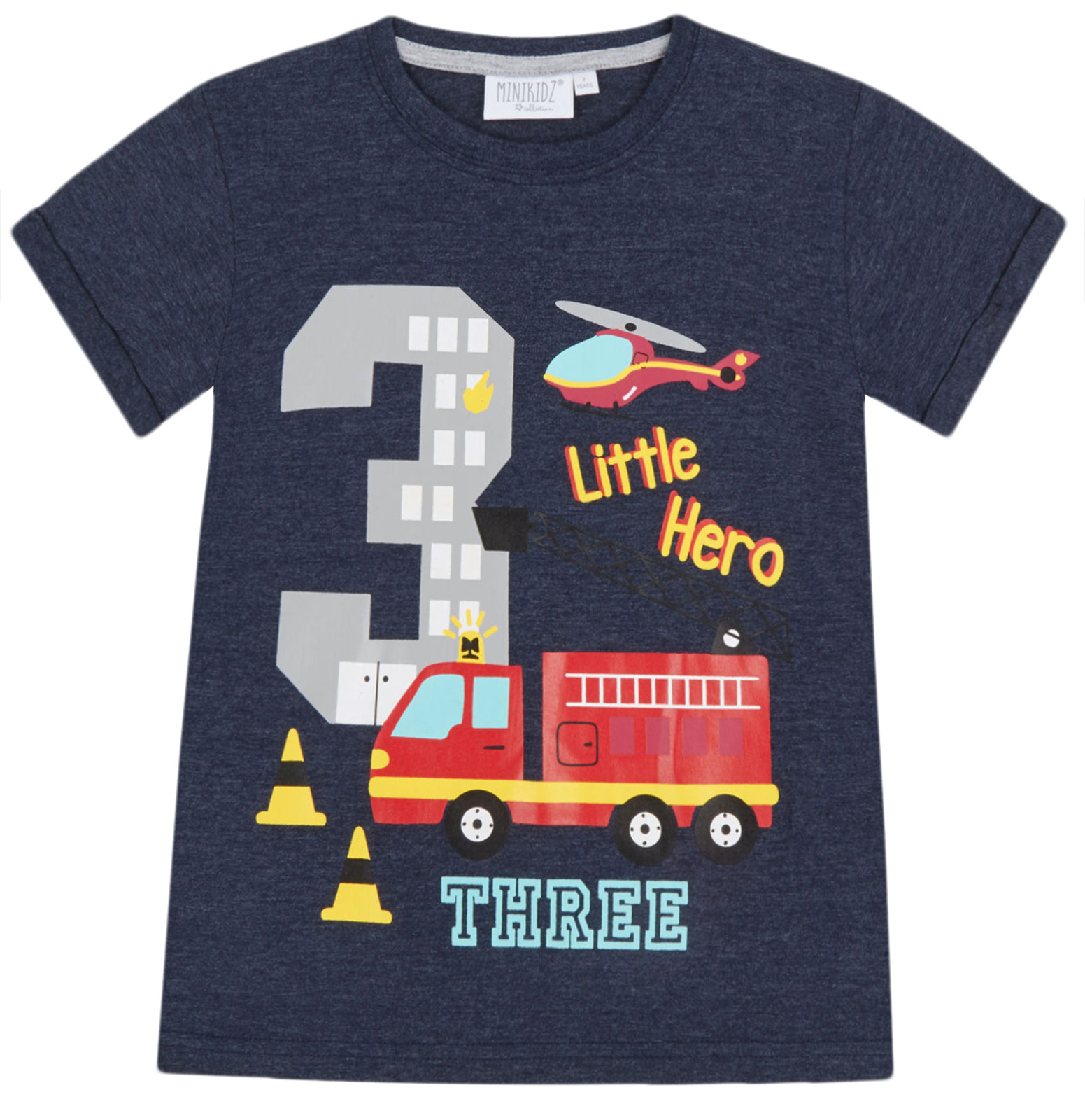 Boys-Birthday-I-Am-1-2-3-4-5-6-Years-Top-Kids-New-Age-Number-Birthday-T-Shirt thumbnail 21