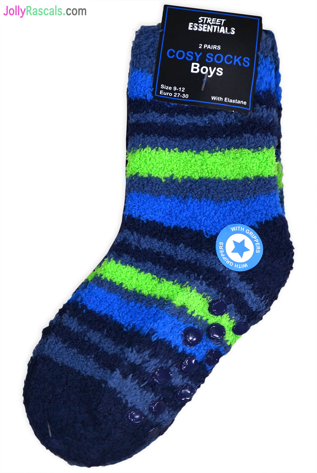 Kids Children/'s Boys Spider Web Winter Warm Socks NON SLIP Slipper Socks 2 packs