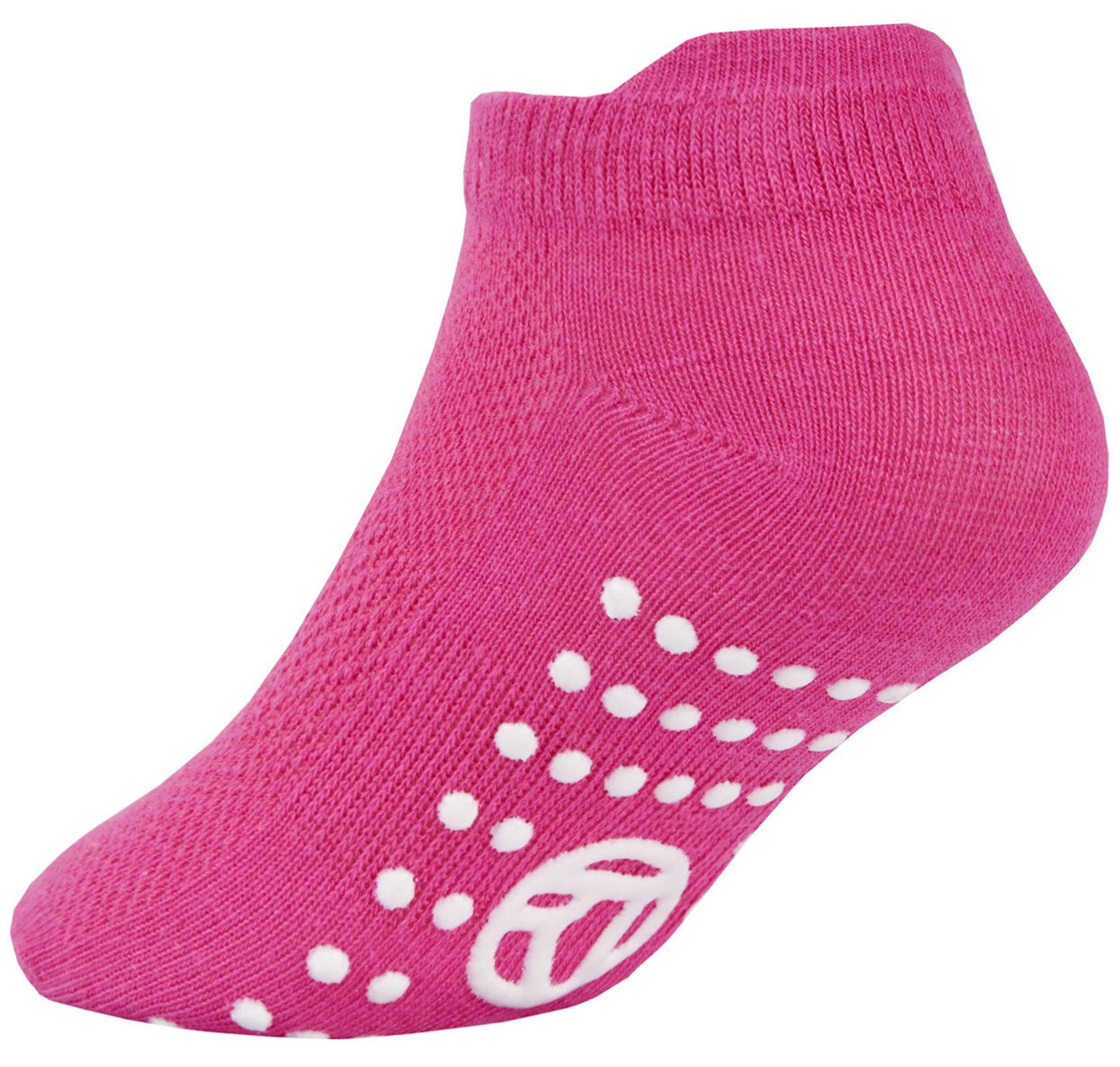 3-Pairs-Girls-Socks-Kids-Gripper-Trainer-Socks-Sports-Liners-Trampoline-Non-Slip