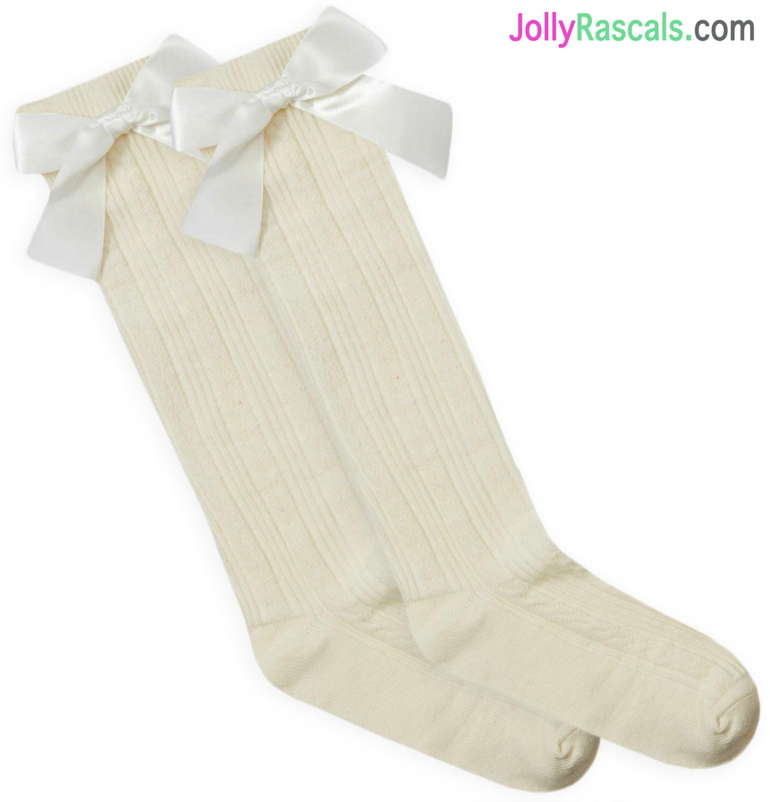 9-12 12-3. Two Pairs Girls Ballet Socks Size 6-8