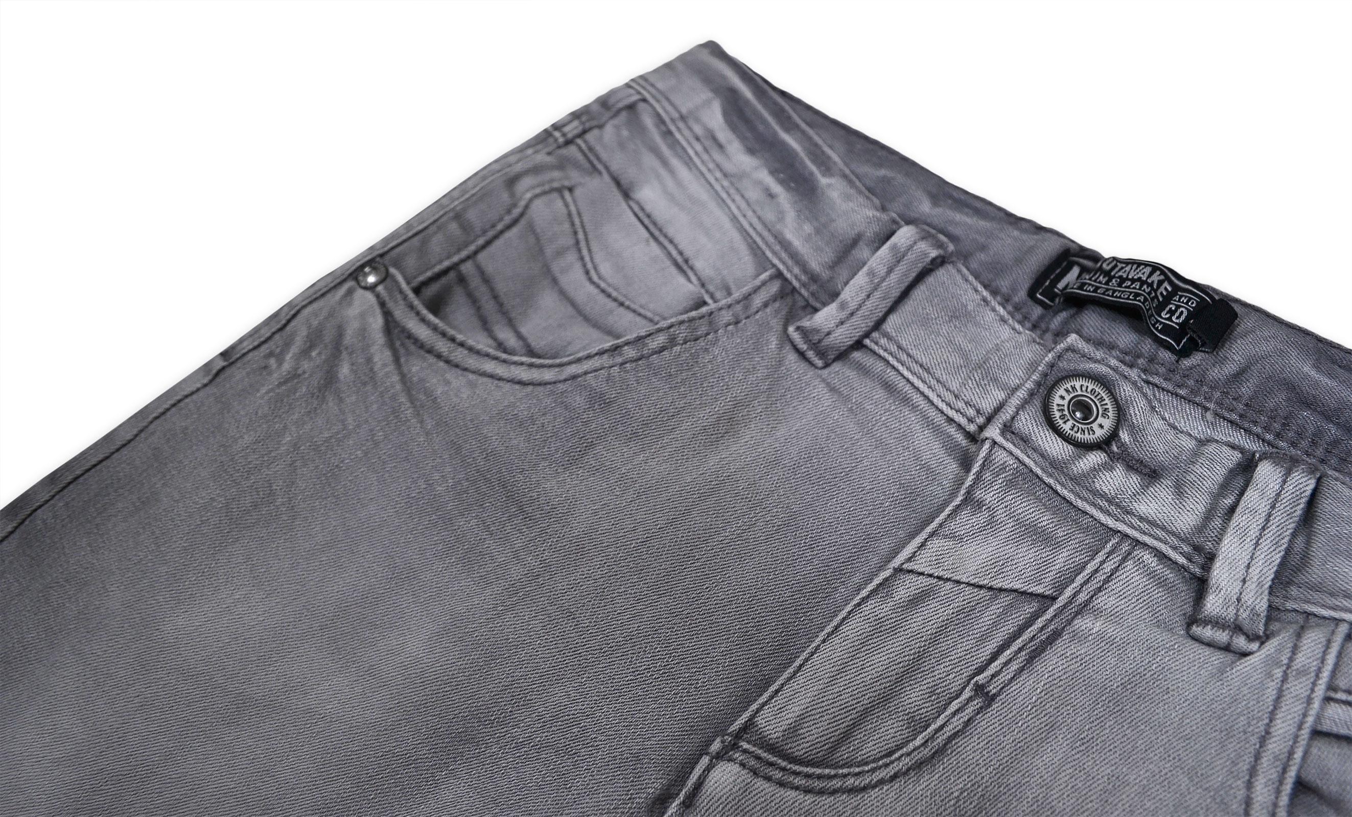 Garcons-Neuf-Gris-Short-d-039-ete-Enfant-Denim-Jeans-Longueur-Genou-Demi-Pantalon-Age-8-16-Ans miniature 3