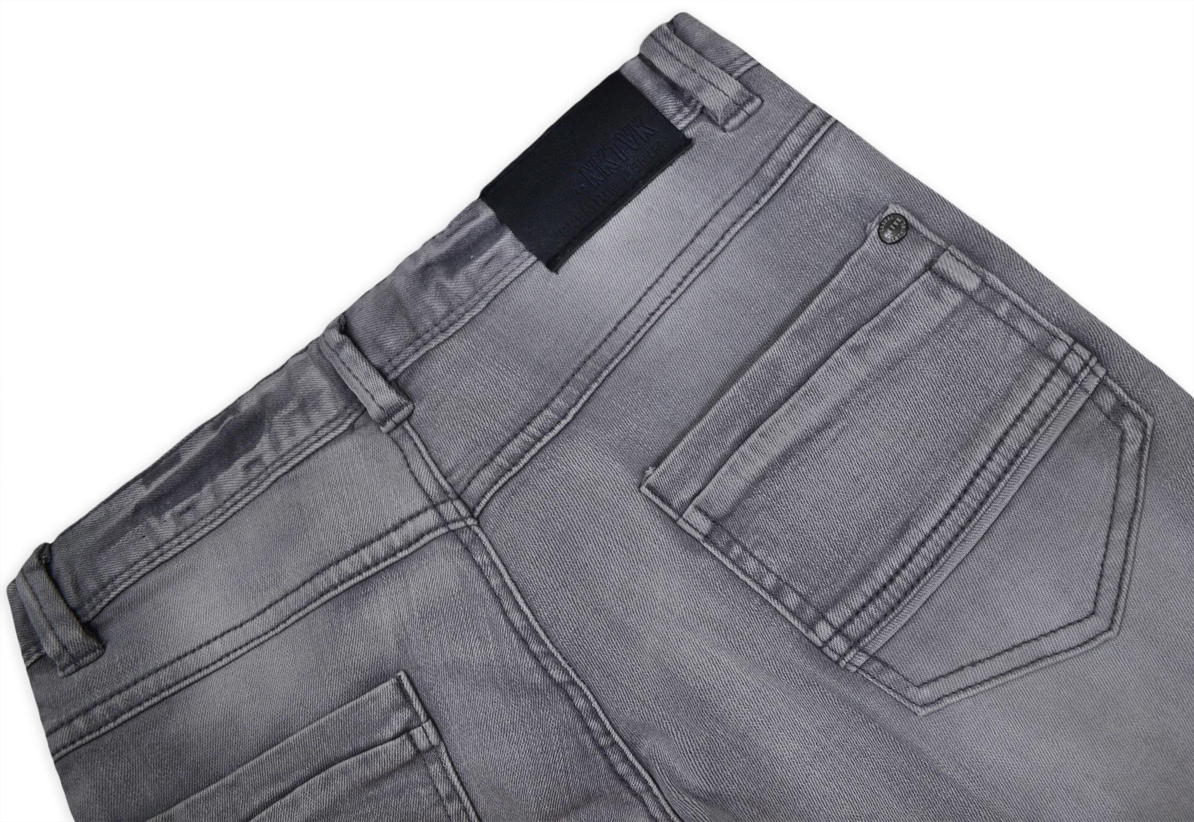 Garcons-Neuf-Gris-Short-d-039-ete-Enfant-Denim-Jeans-Longueur-Genou-Demi-Pantalon-Age-8-16-Ans miniature 4