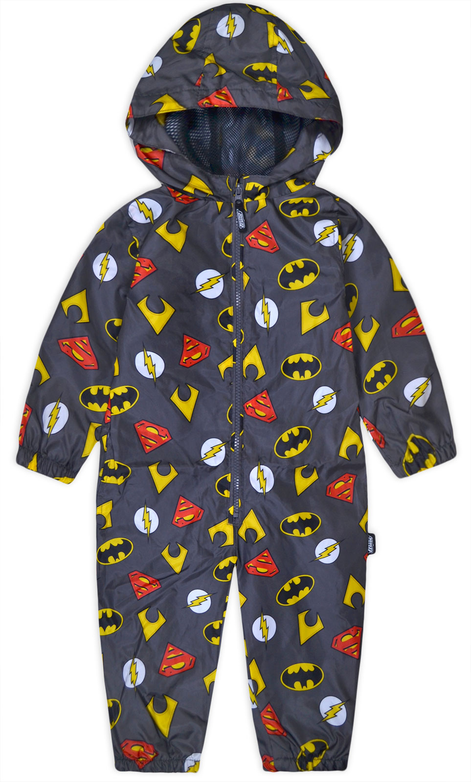 Boys DC Batman One Piece Pyjamas Jumpsuit All In One Size Medium Age 7 8 9 Years