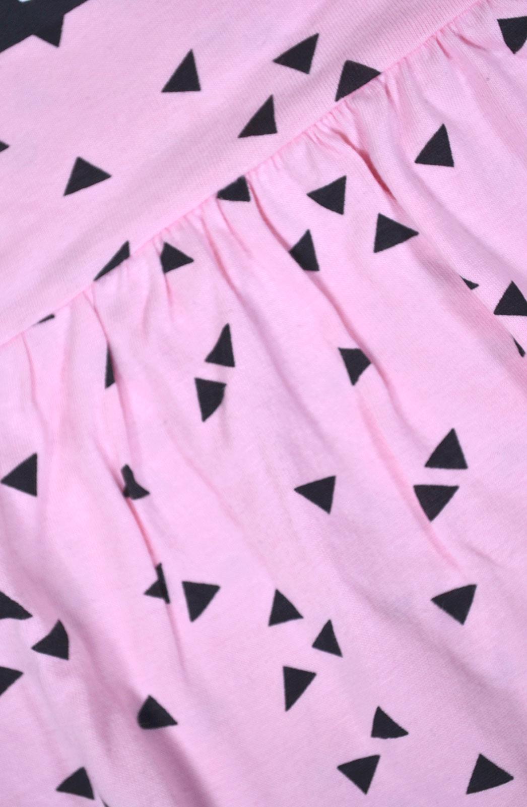 Girls-Summer-Dress-Kids-New-Skater-Dress-Cotton-Pink-Black-Age-2-3-4-5-6-7-8-Yrs thumbnail 5