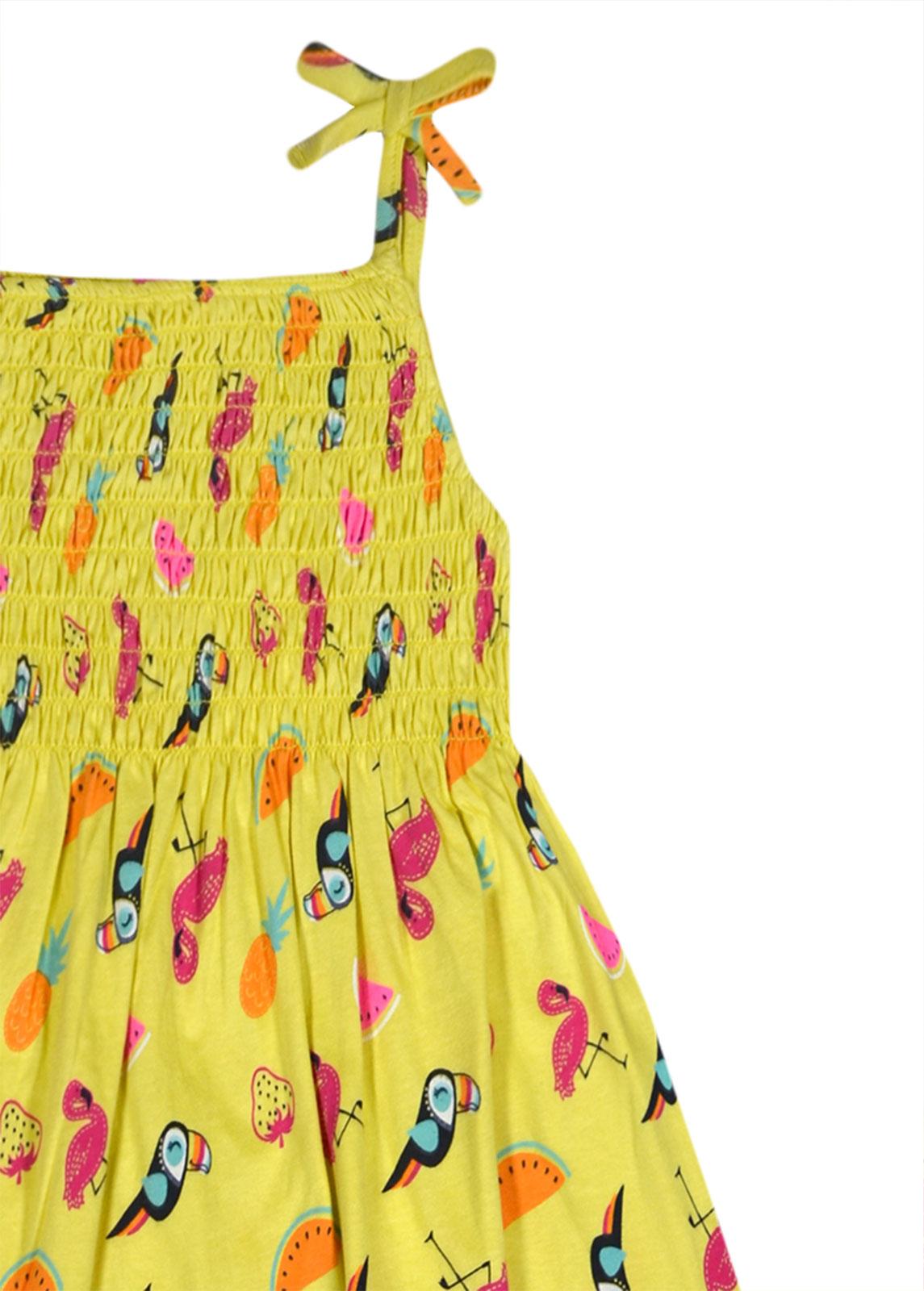 95eaaeaa22e9b Girls Sun Dress New Summer Party Dresses 100% Cotton Kids Age 2 3 4 ...