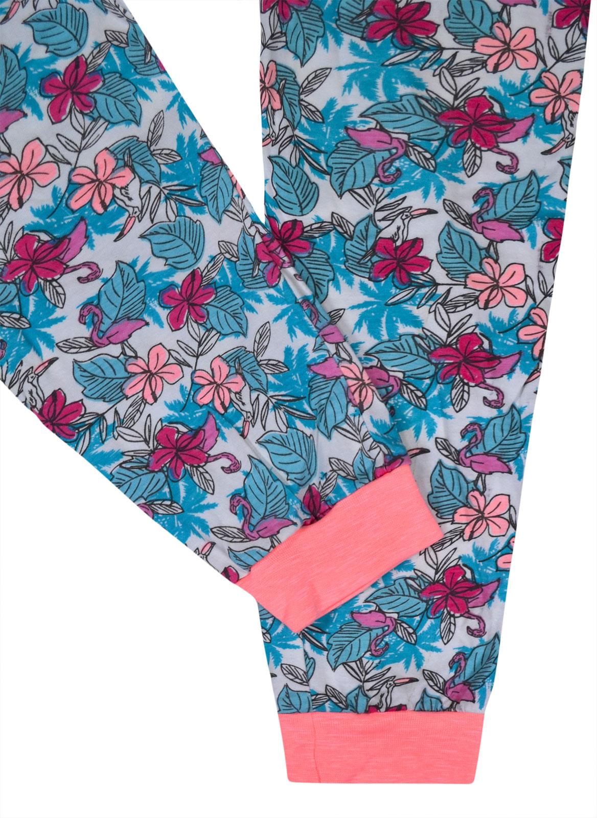 Full Length /& Floral Machine Washable jolly rascals Girls Nightwear Cotton Blend Crew Neck