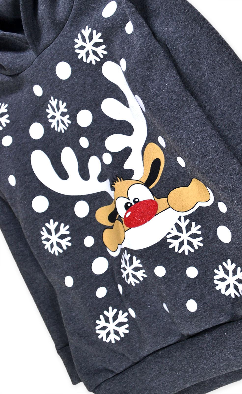 Kids-Christmas-Hoodie-New-Boys-Girls-Xmas-Reindeer-Rudolph-Jumper-Top-2-13-Yrs