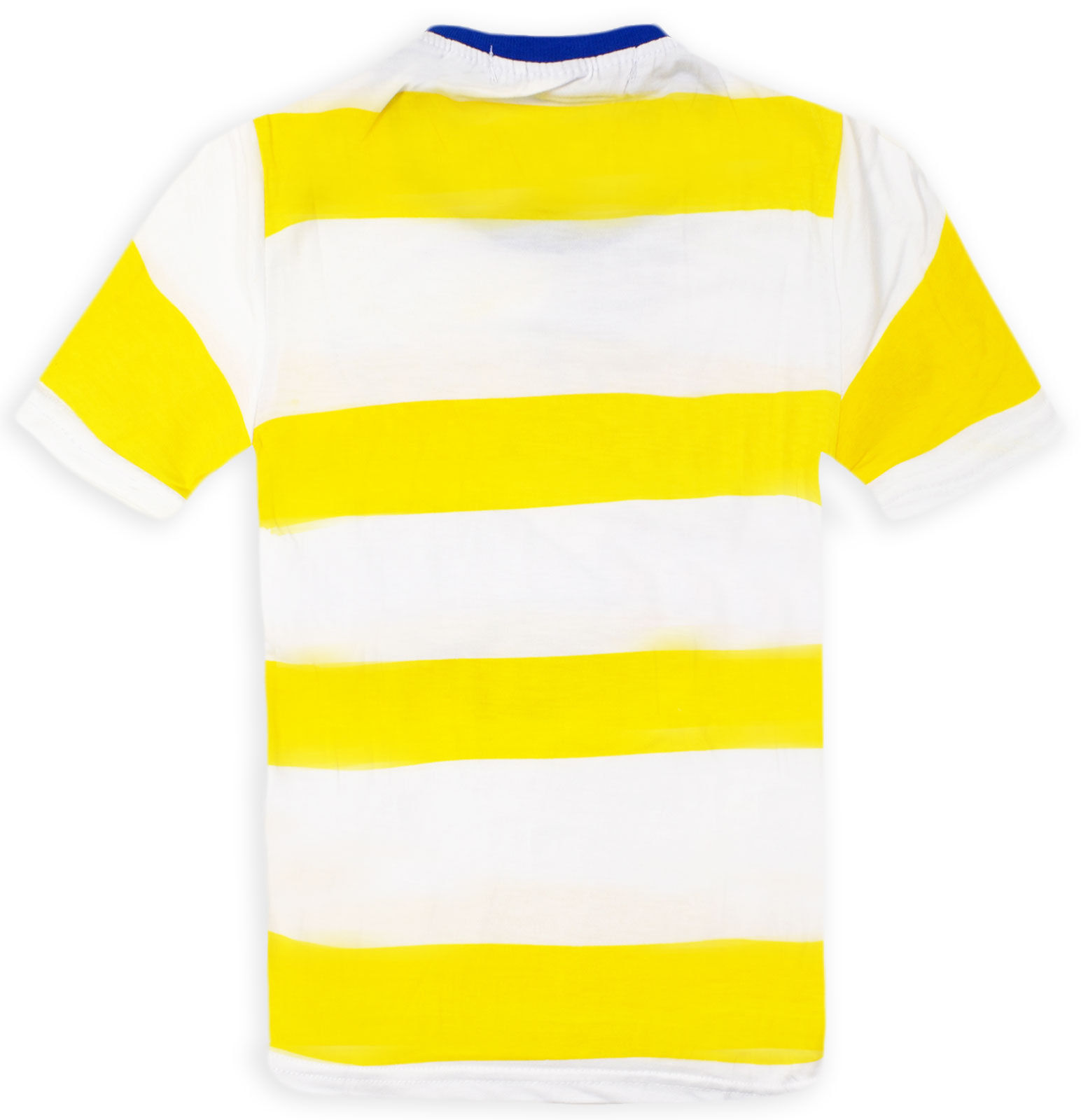 Boys Striped Car Racing T Shirt Short Sleeved Kids Summer Top New Age 3-12 Years