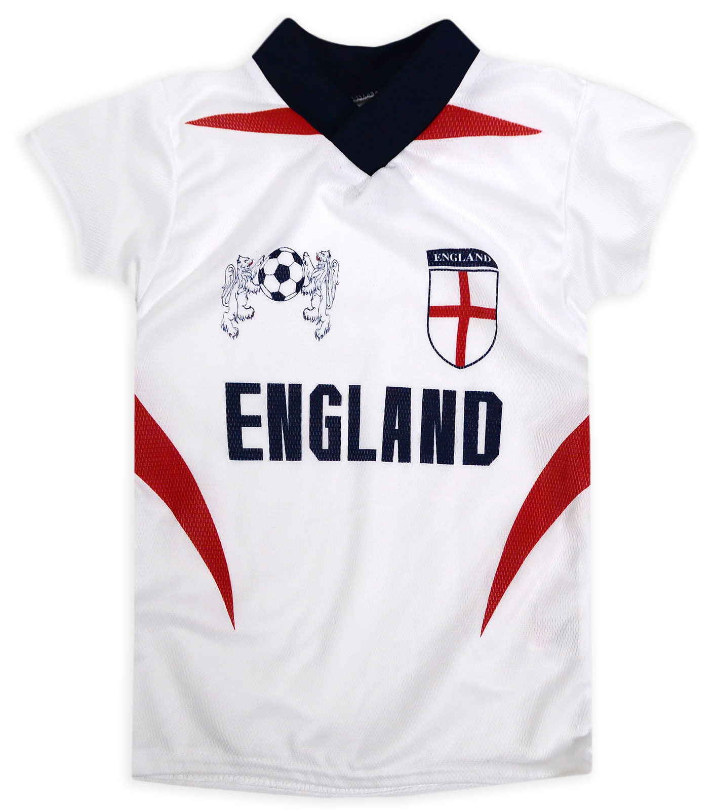 515af179 Details about Boys Short Sleeved England Logo T-Shirt New Kids Baby White  Football Tops Tee