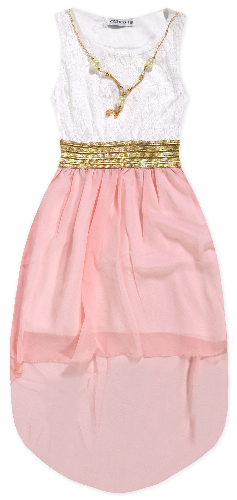 Girls Vibrant Party Dress New Kids Chiffon Skirt Lace Top Dresses ...