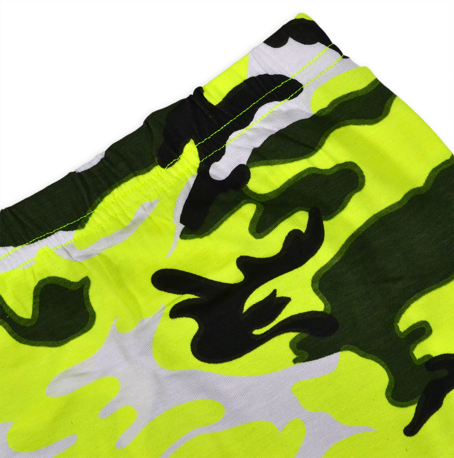 62c266f922df Girls Neon Camo Crop Top And Skirt Outfit New Kids Summer Set Ages 7 ...