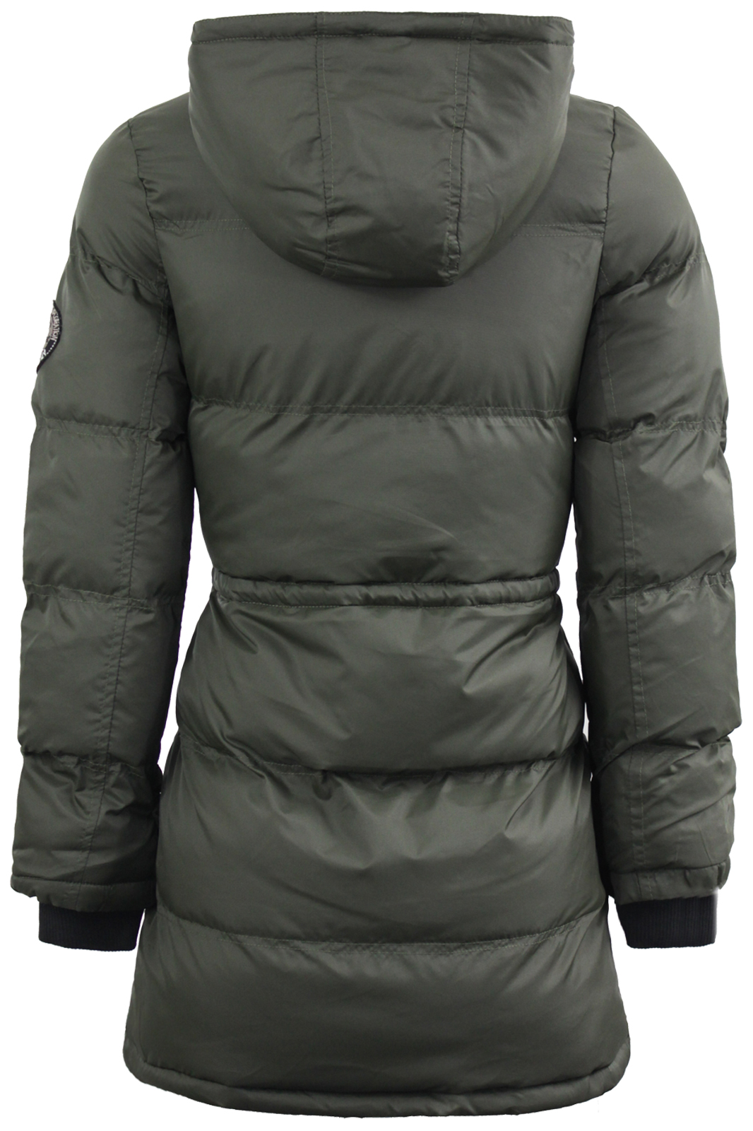 Womens Brave Soul Padded Quilted Jacket Warm Winter Parker Parka ... : brave soul quilted jacket - Adamdwight.com