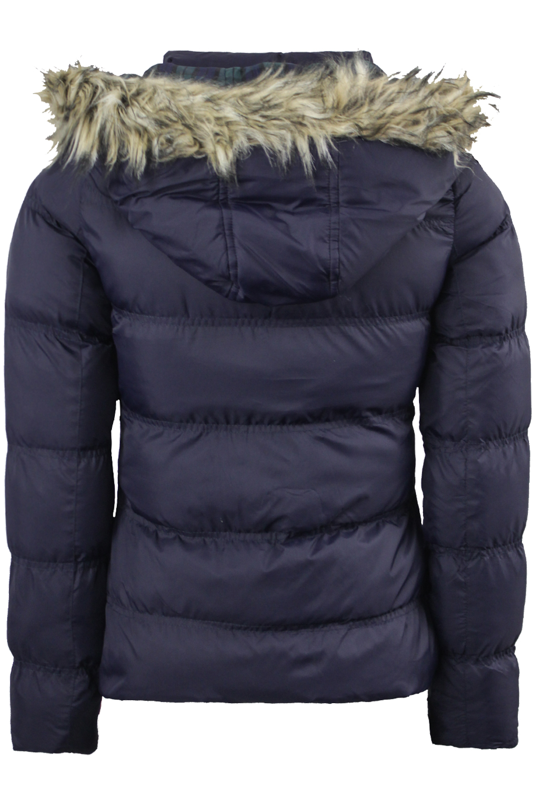 Womens Brave Soul Padded Puffa Puffer Jacket Faux Furtrim