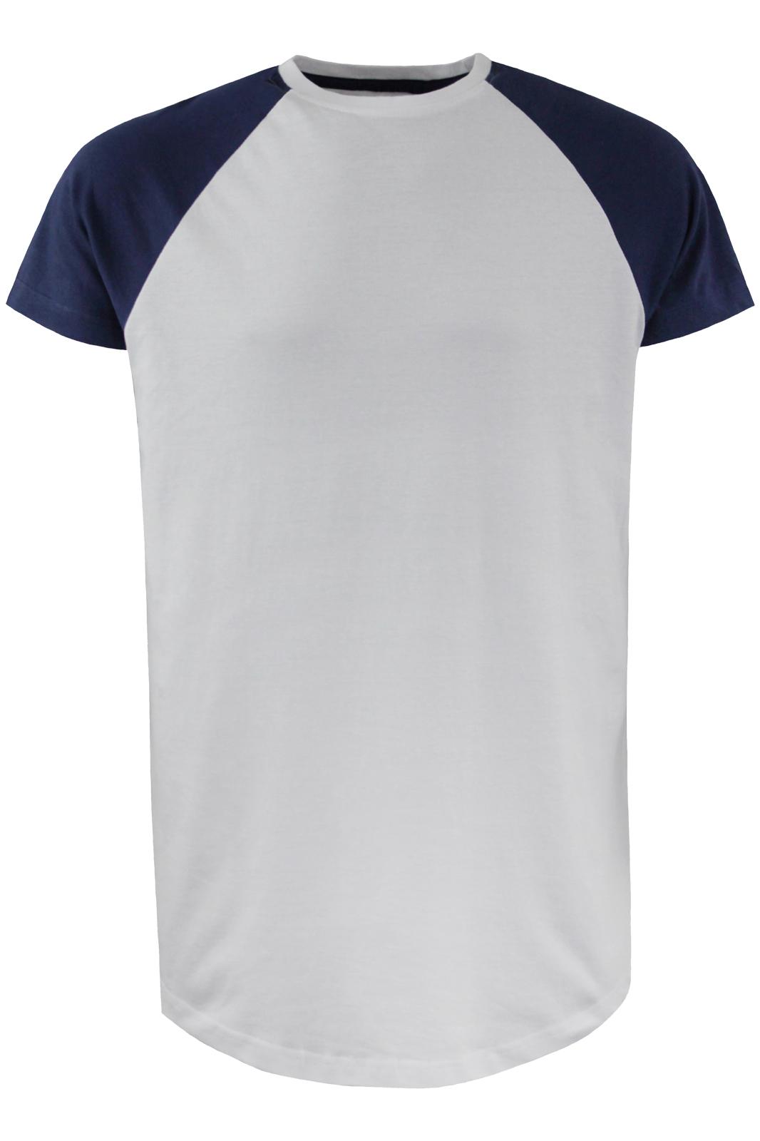 cf9f13cafca Mens T-Shirt Brave Soul  Baptist  Crew Neck Short Raglan Sleeve Cotton  Longline