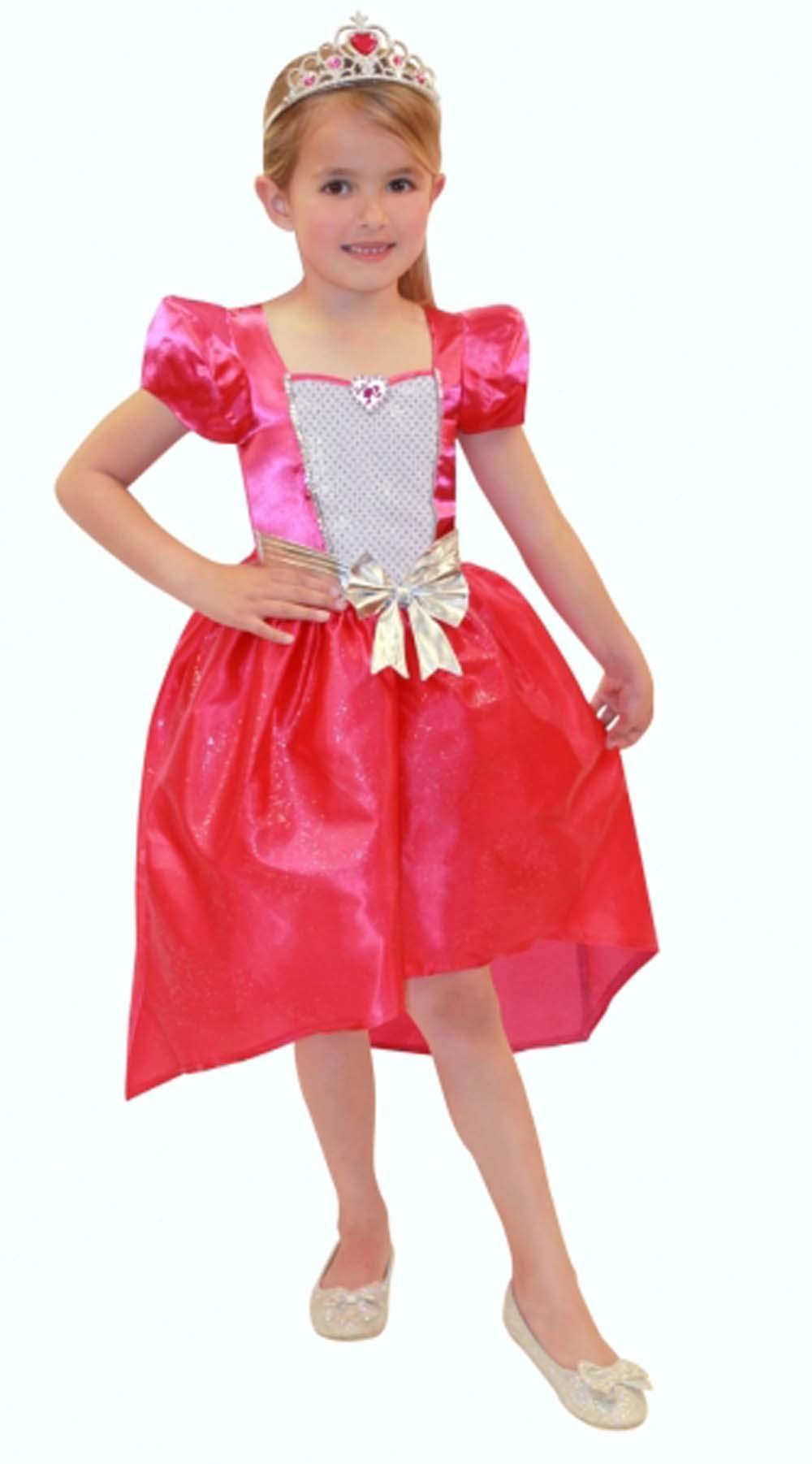 Mädchen Barbie Prinzessin Verkleidung Kostüm Alter 4-6 | eBay