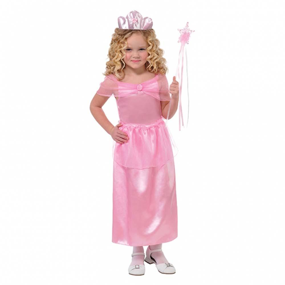 Mädchen Hübsch Rosa Prinzessin Verkleidung Kostüm Alter 4-6 Buch ...