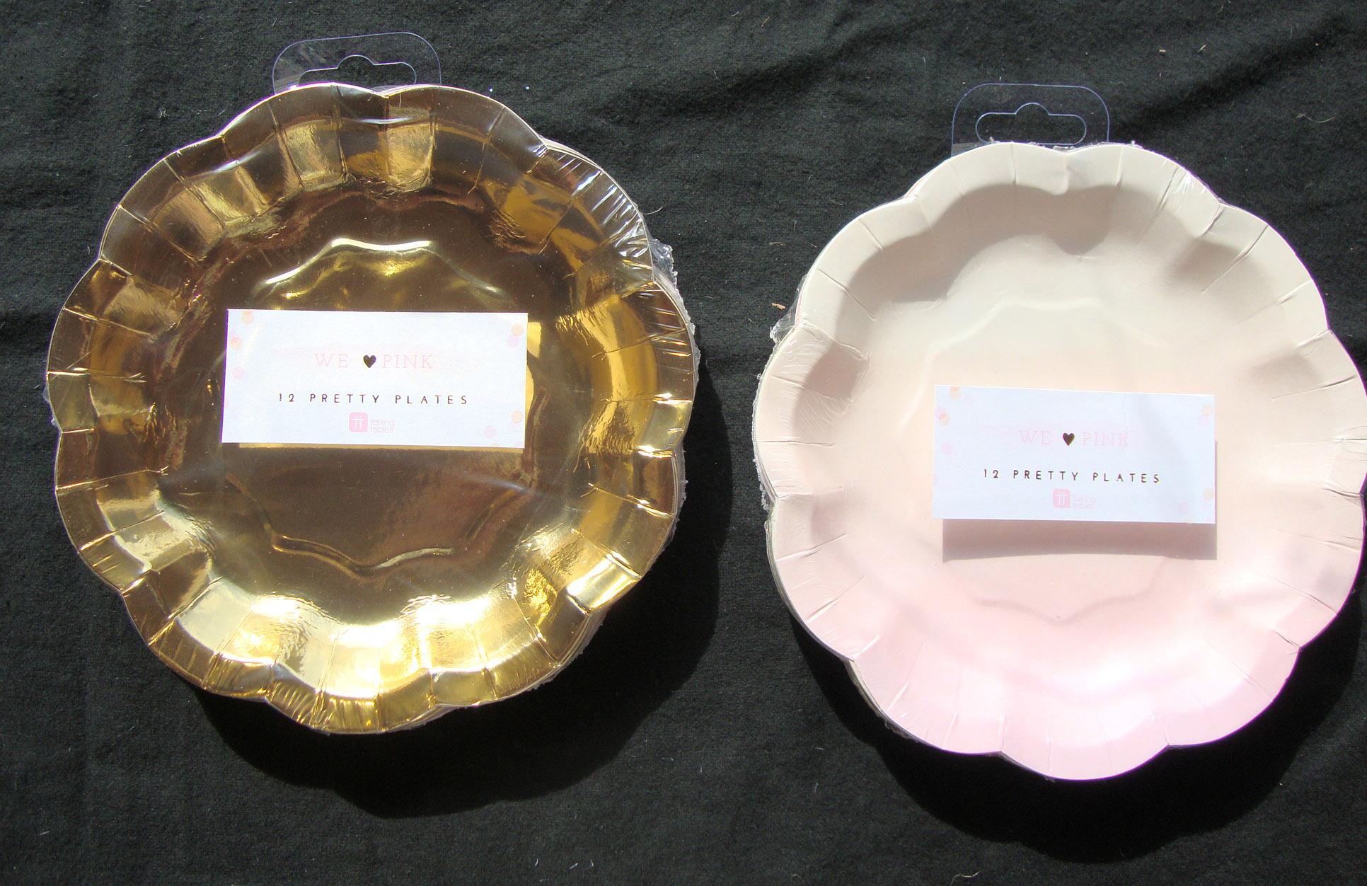 Piatti Di Carta Battesimo : Rosa oro piatti di carta baby shower battesimo ragazze ebay