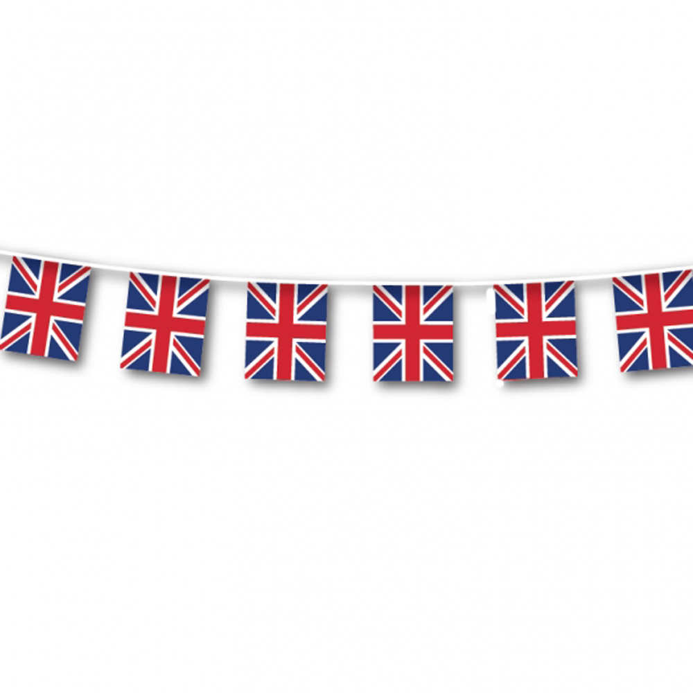 Large Quality Great Britain Flag Bunting Outdoor GB Banner ...