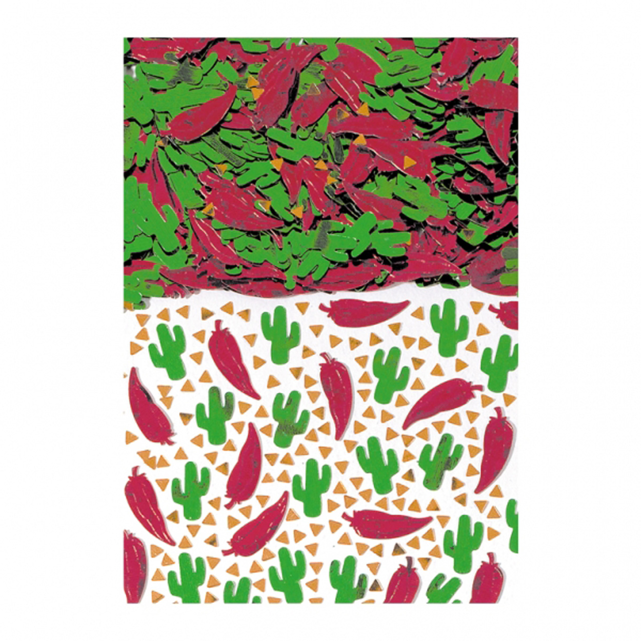 Details About Mexican Fiesta Party Table Confetti Party Decorations Red Chili Green Cactus